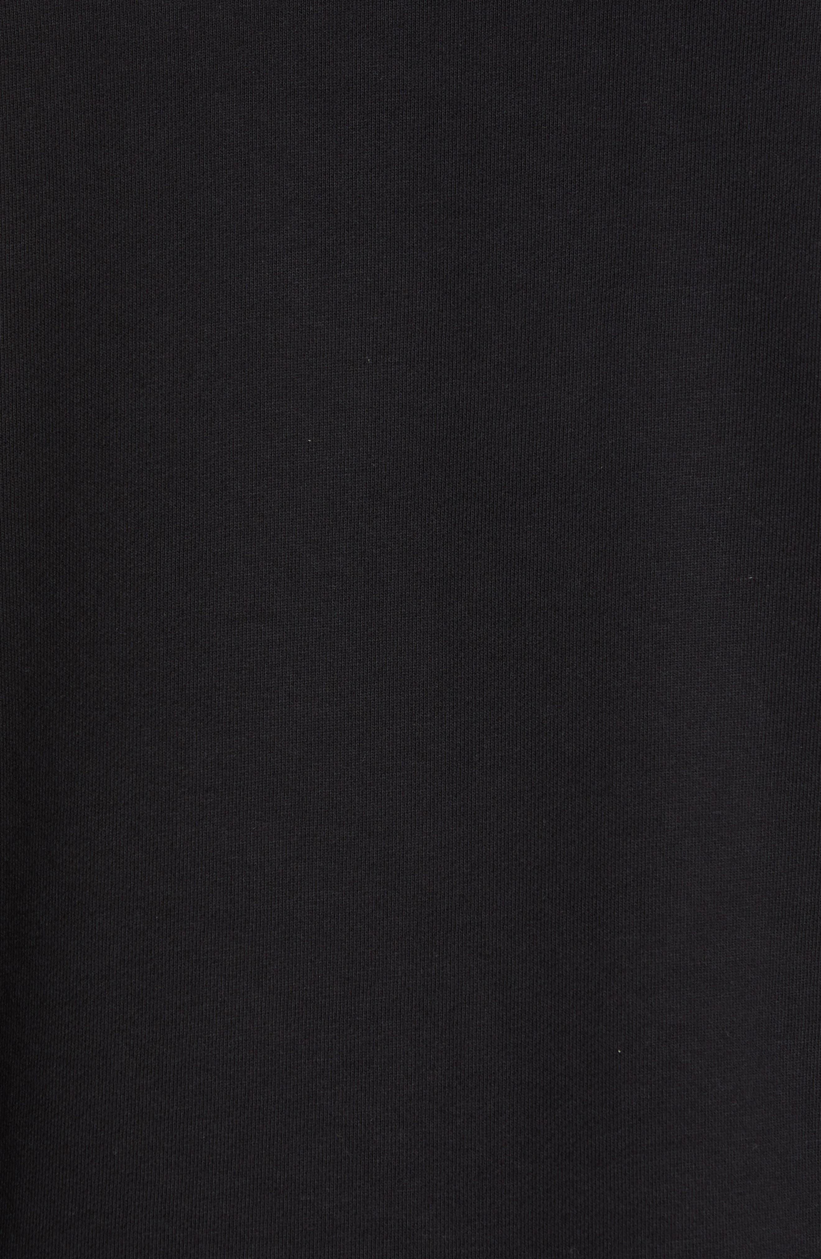 Maglia Sweatshirt,                             Alternate thumbnail 5, color,                             BLACK