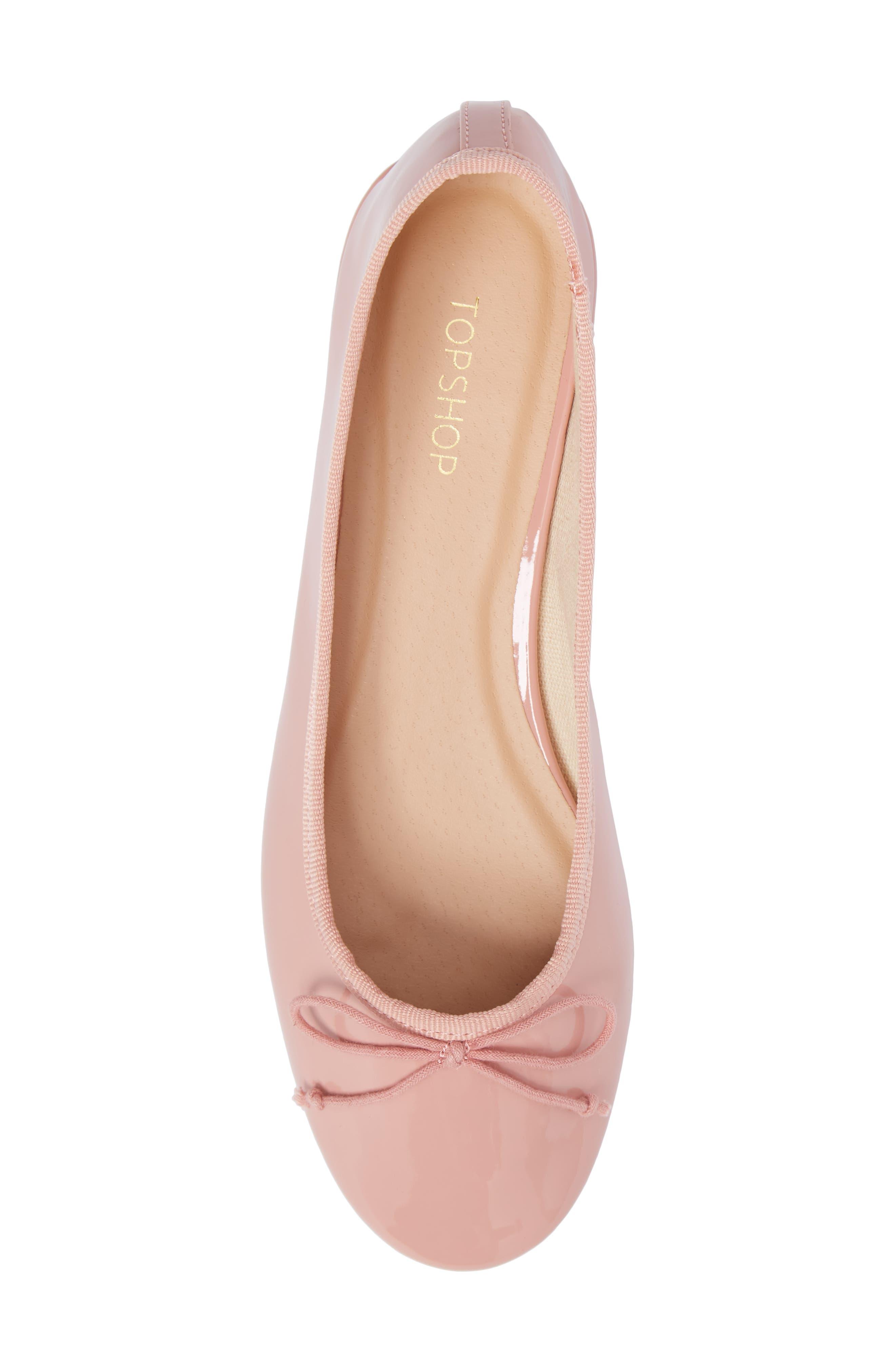 Glory Heeled Ballerina Slippers,                             Alternate thumbnail 6, color,                             650
