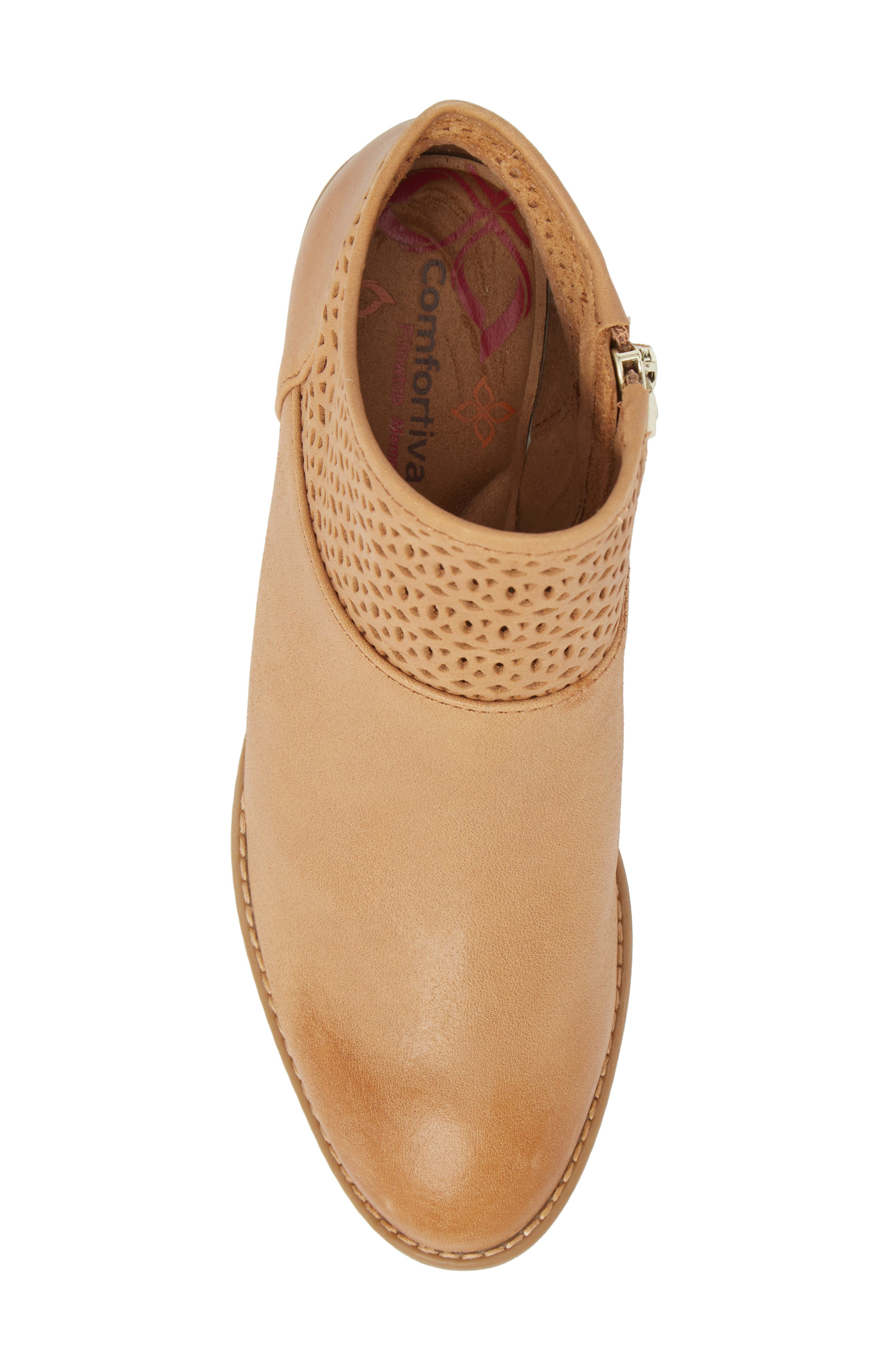 Caileen Bootie,                             Alternate thumbnail 5, color,                             NEW CARAMEL