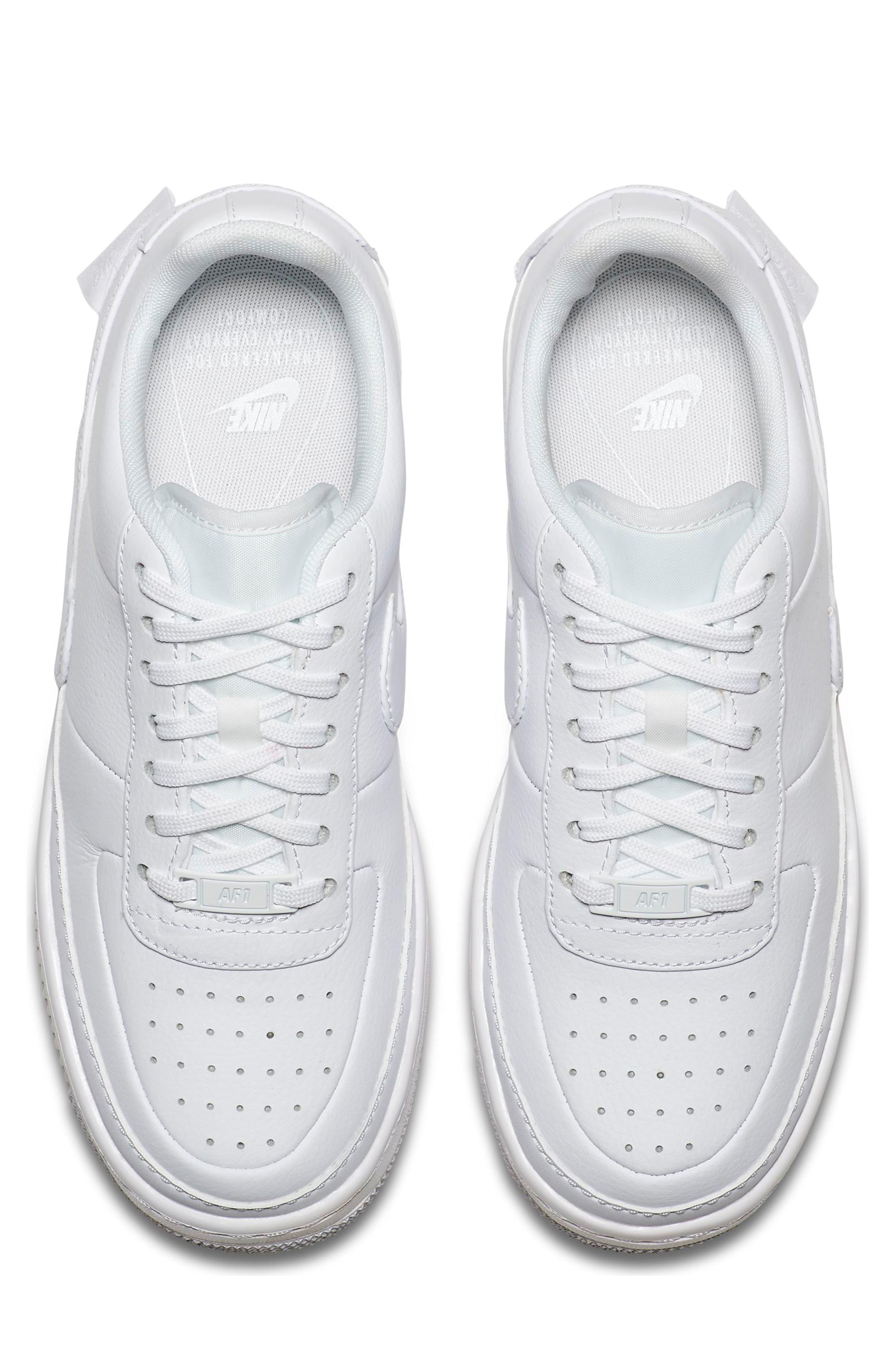 Air Force 1 Jester XX Sneaker,                             Alternate thumbnail 4, color,                             WHITE/ WHITE-BLACK