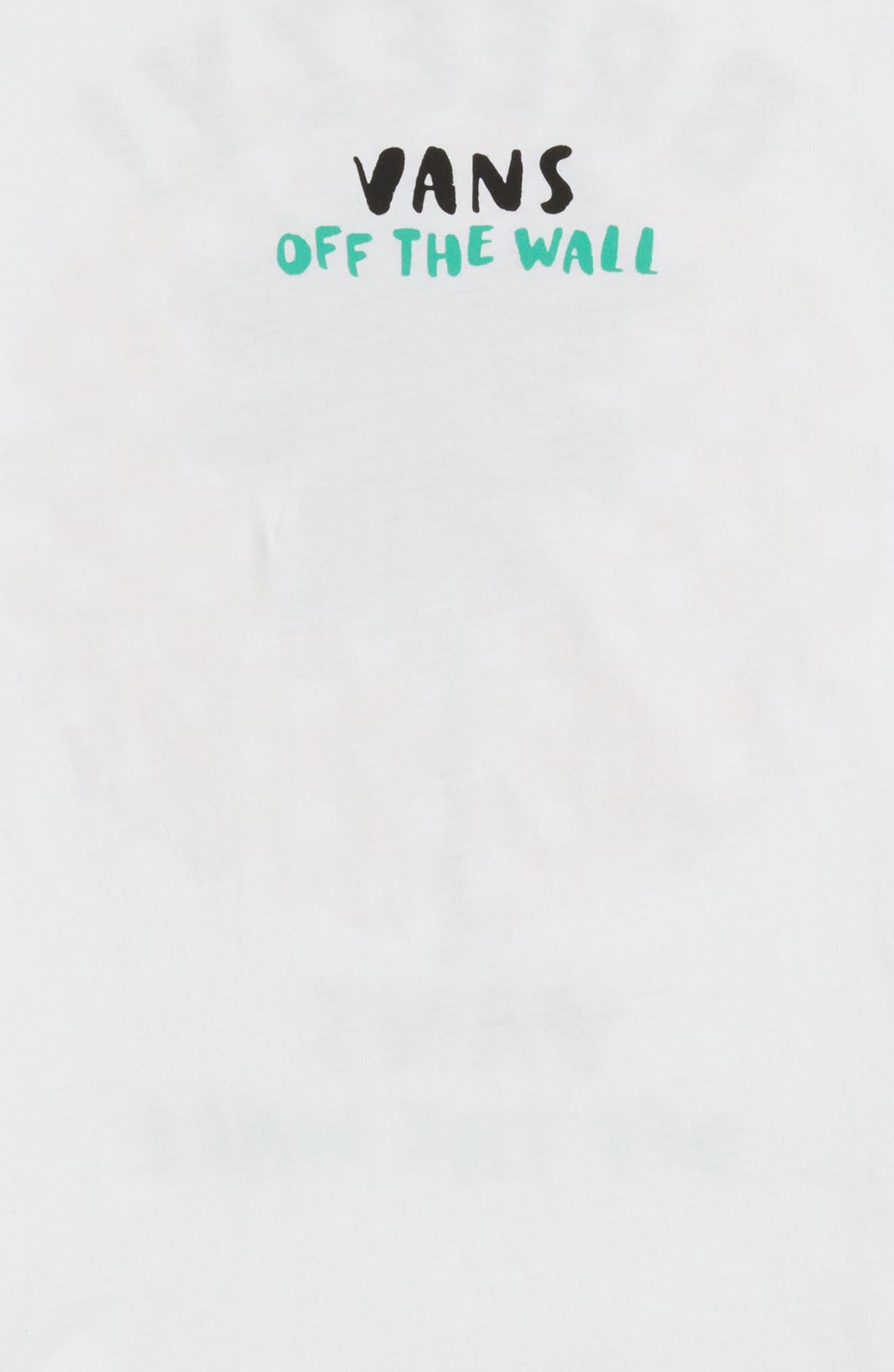VANS,                             Stay Breezy Graphic T-Shirt,                             Alternate thumbnail 3, color,                             100