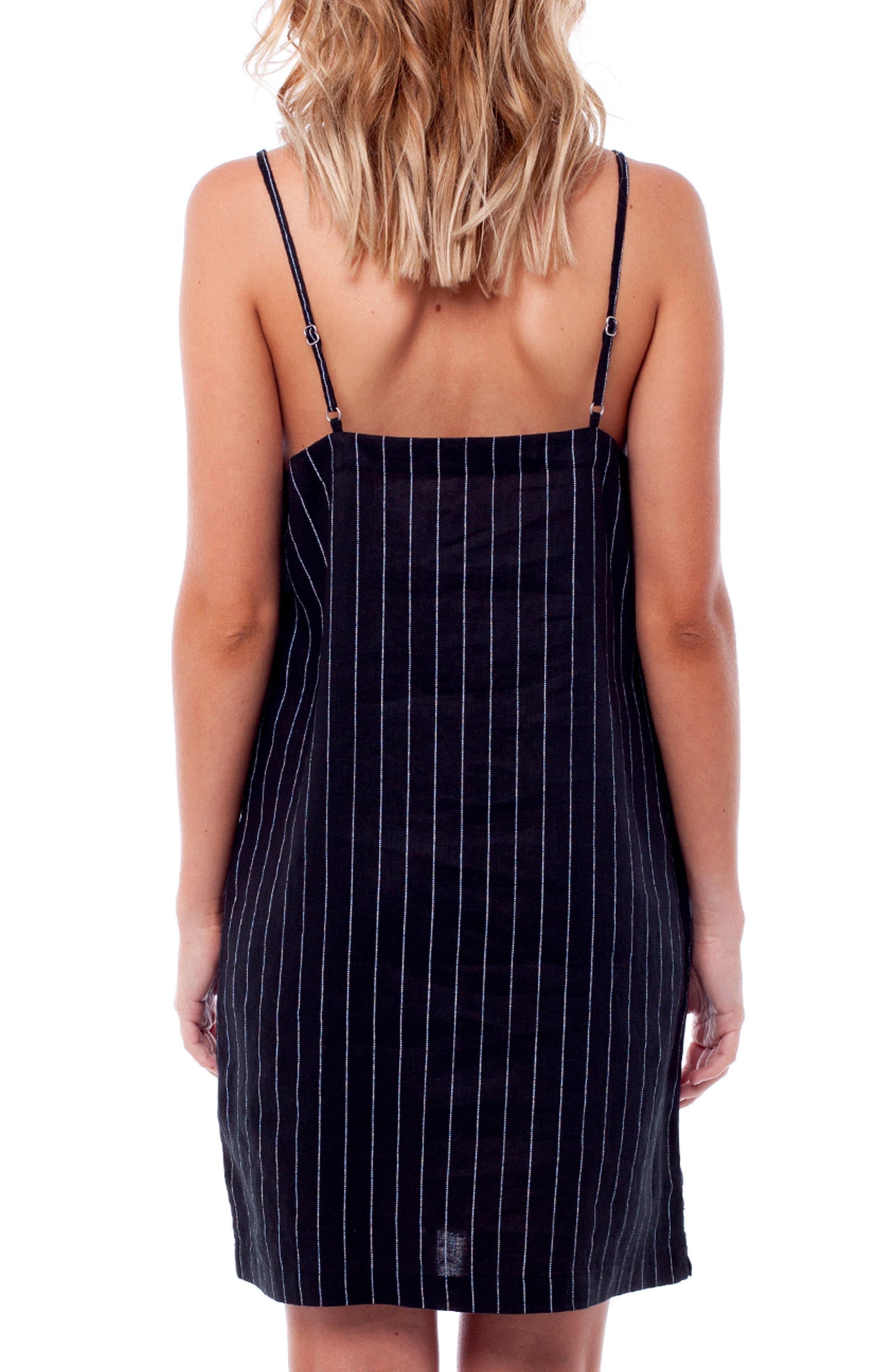 Catalina Cover-Up Dress,                             Alternate thumbnail 2, color,                             BLACK
