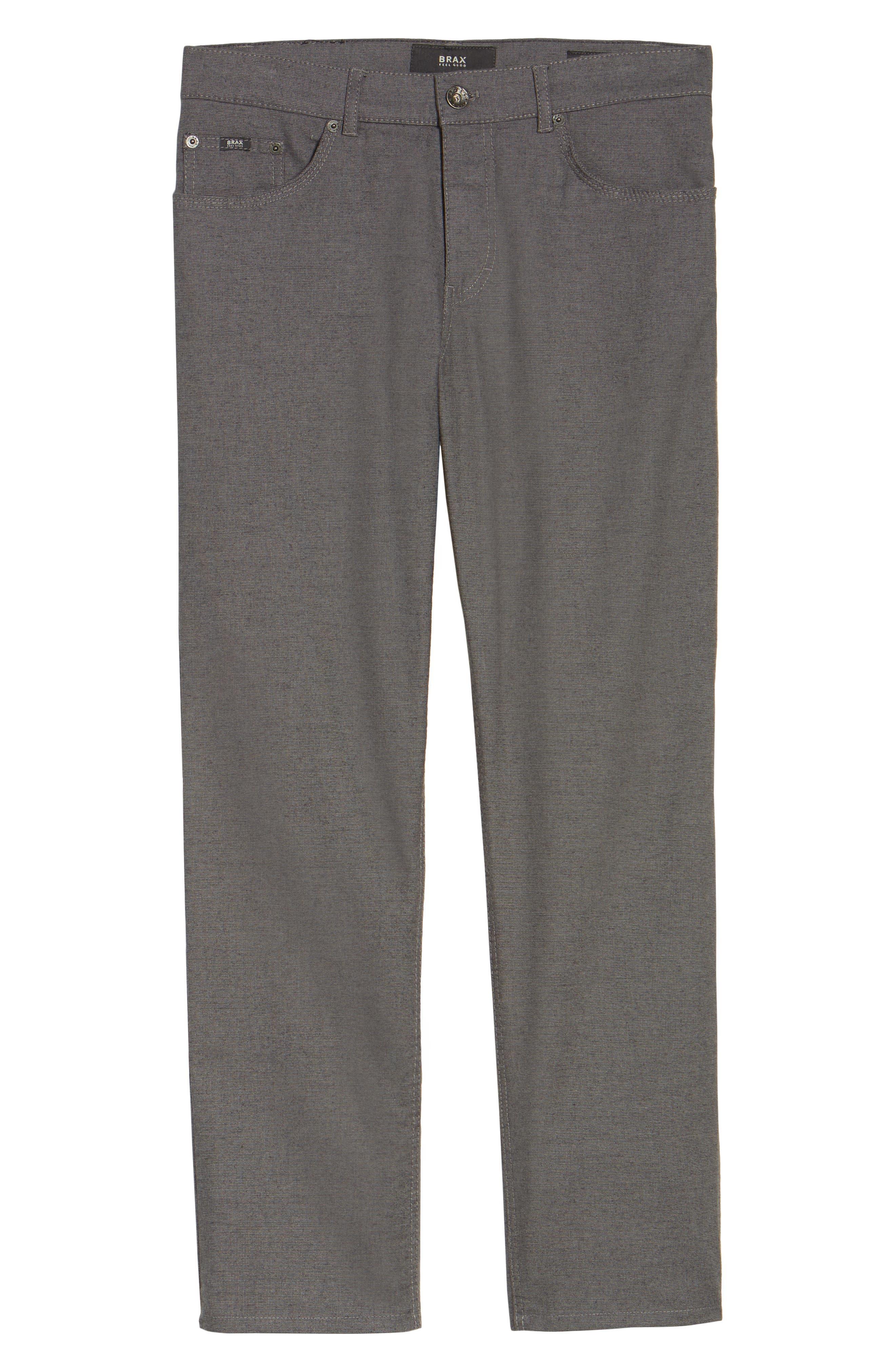 Five-Pocket Stretch Cotton Trousers,                             Alternate thumbnail 28, color,