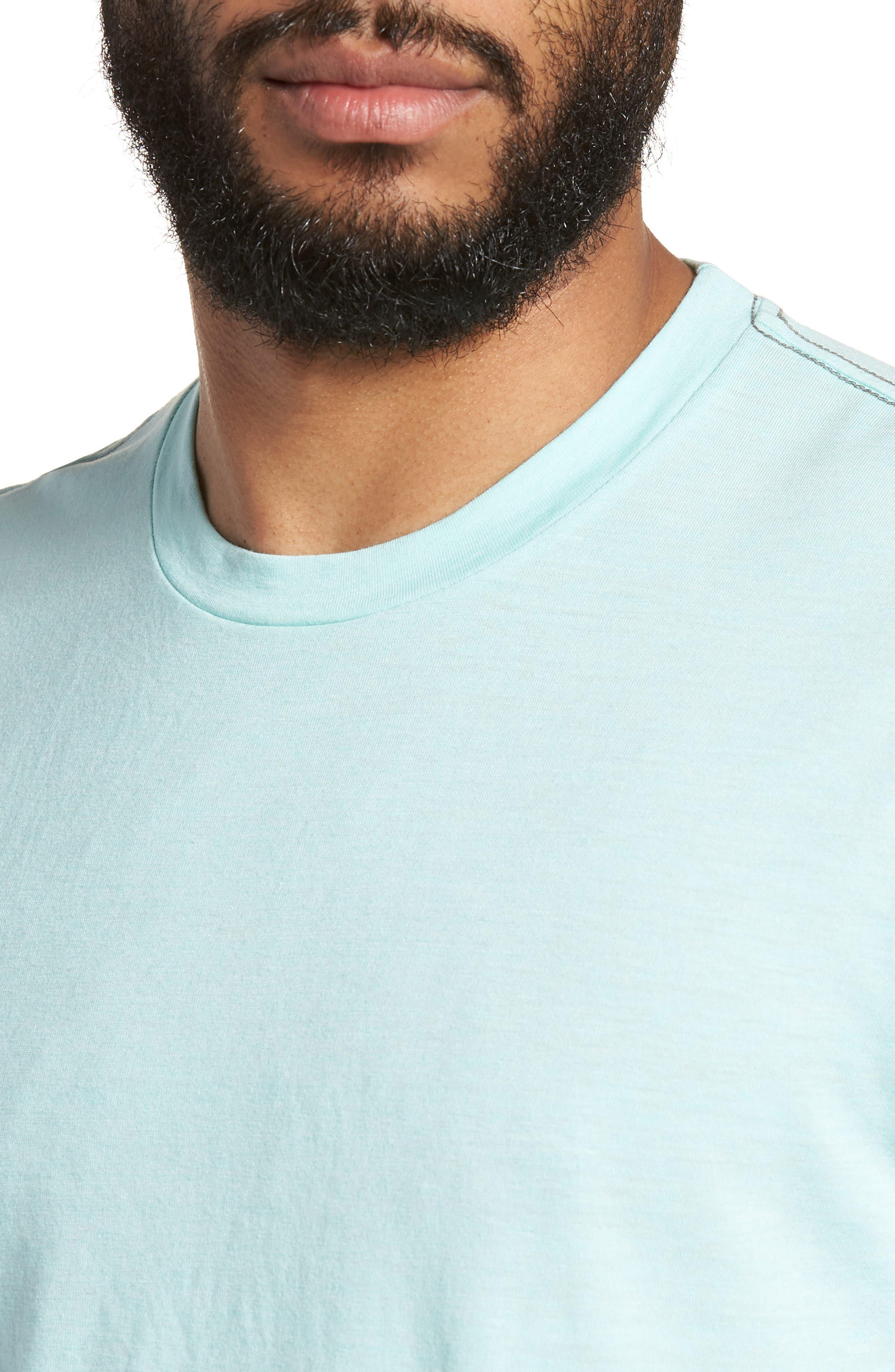 Scallop Triblend Crewneck T-Shirt,                             Alternate thumbnail 79, color,