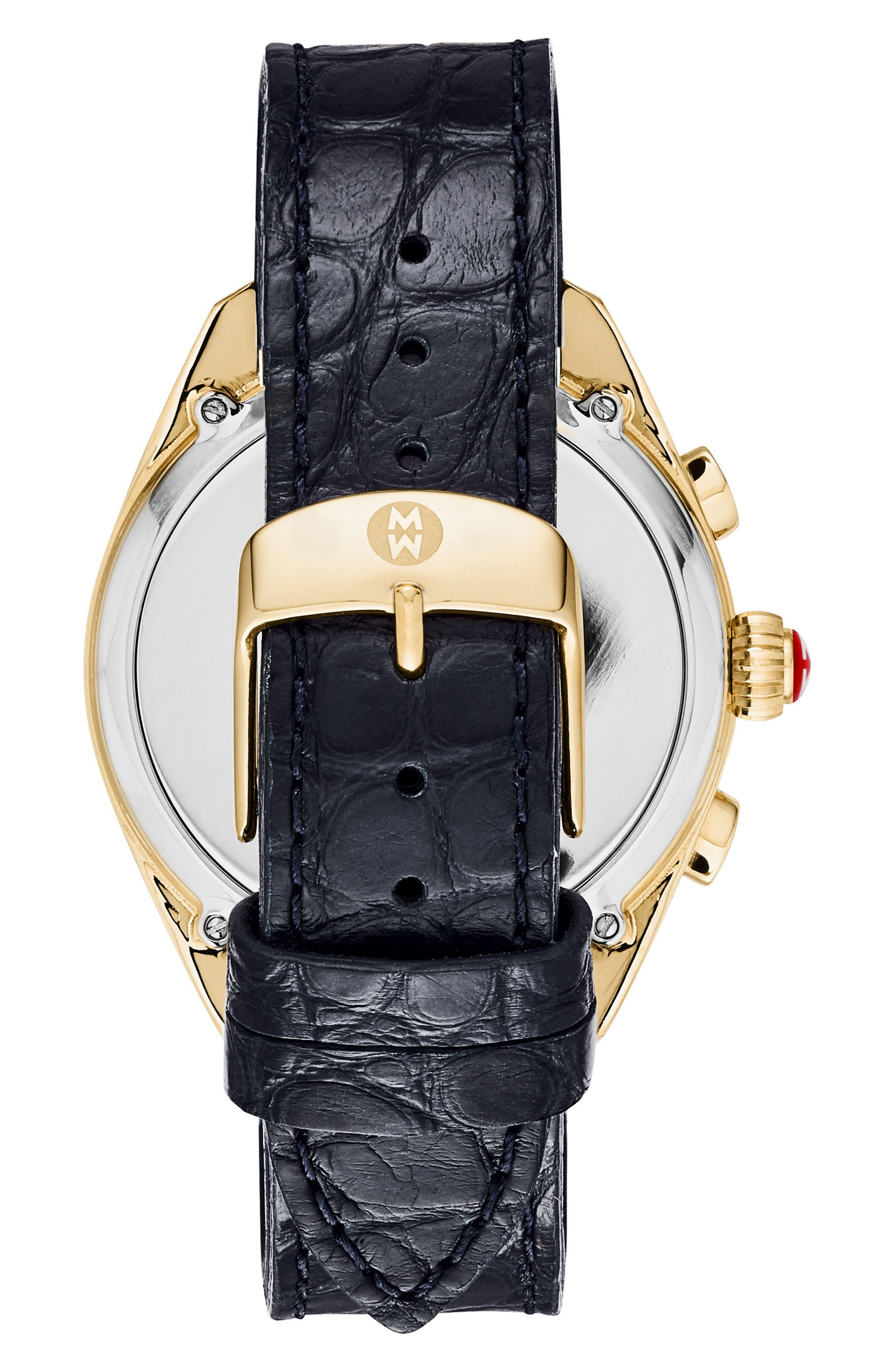 Hybrid Tracker Watch, 38mm,                             Alternate thumbnail 2, color,                             NAVY/ GOLD