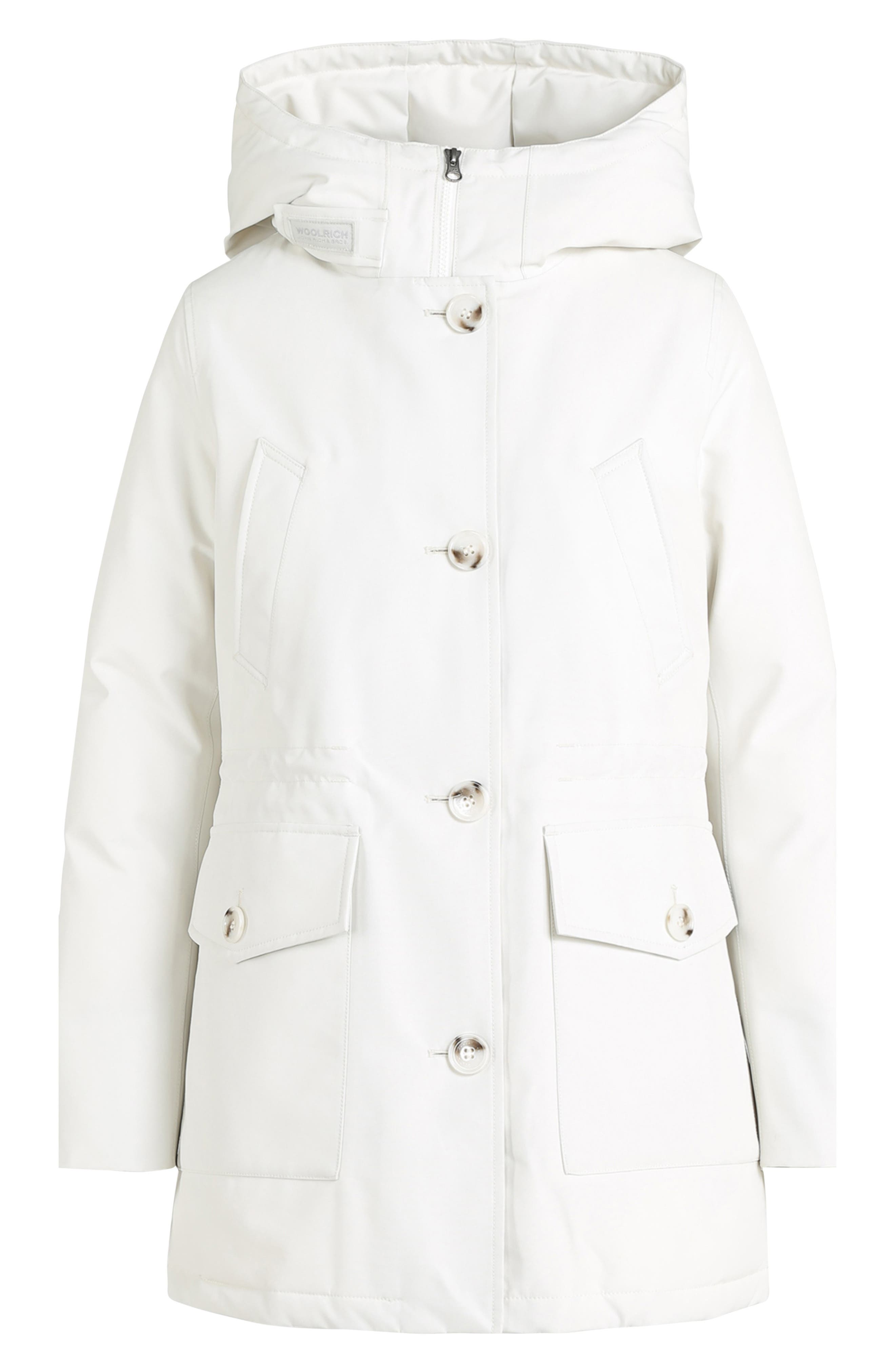 Mountain Gore-Tex<sup>®</sup> Hooded Down Parka,                             Alternate thumbnail 5, color,                             WHITE IGLOO