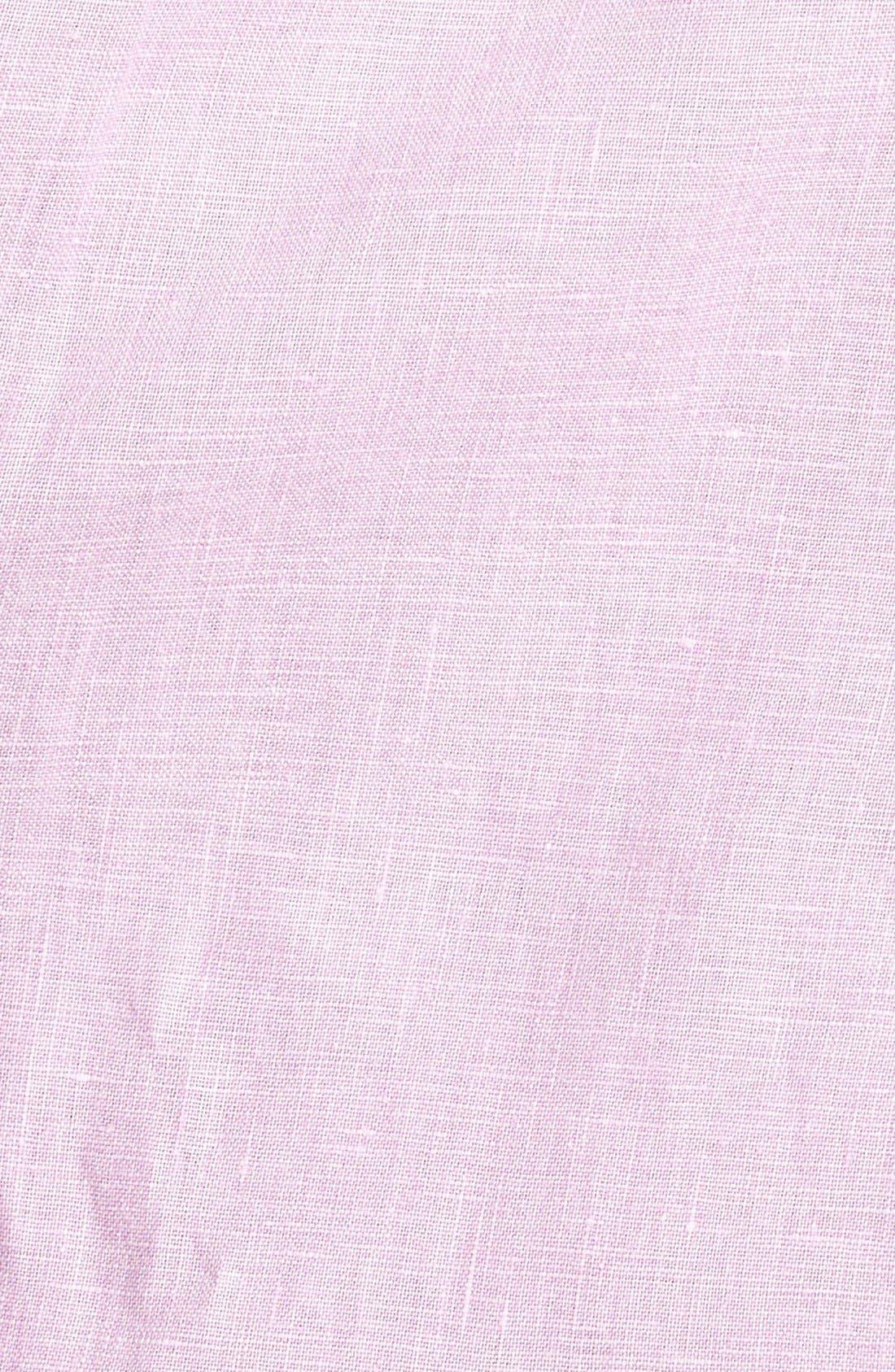 Seaglass Breezer Short Sleeve Linen Sport Shirt,                             Alternate thumbnail 28, color,