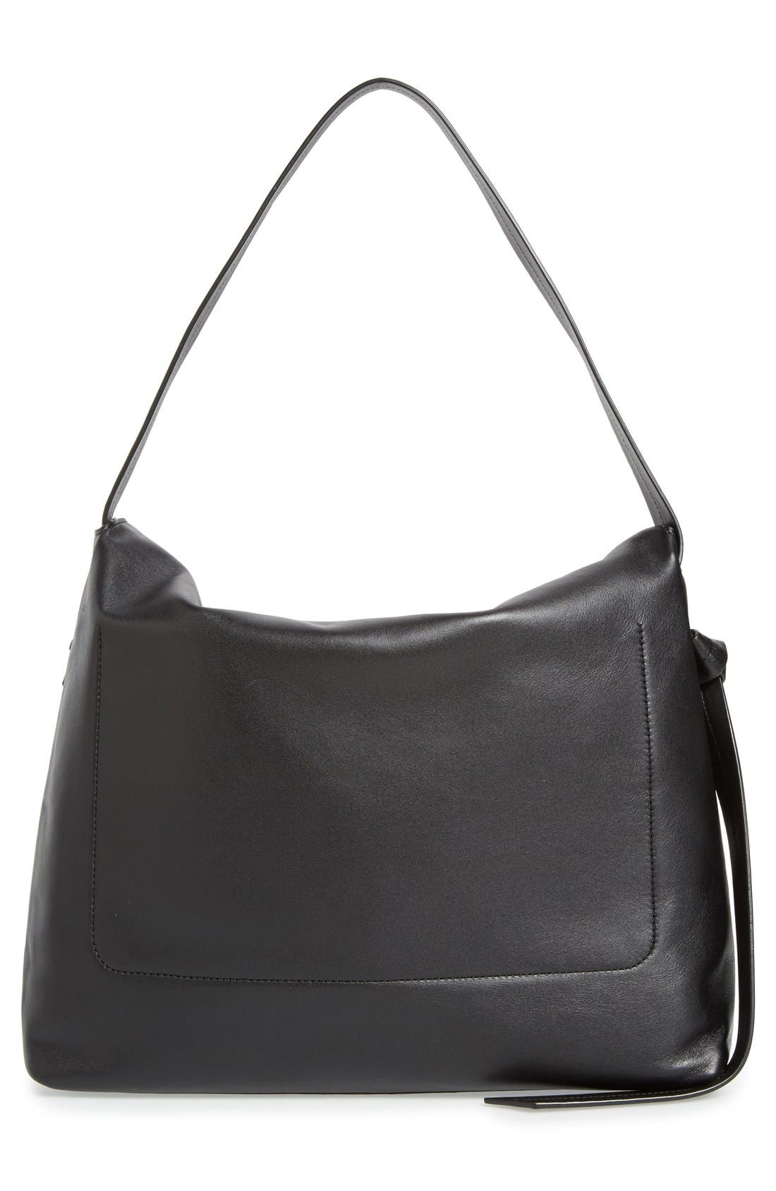 'Large Lafayette' Leather Shoulder Bag,                             Alternate thumbnail 2, color,                             001