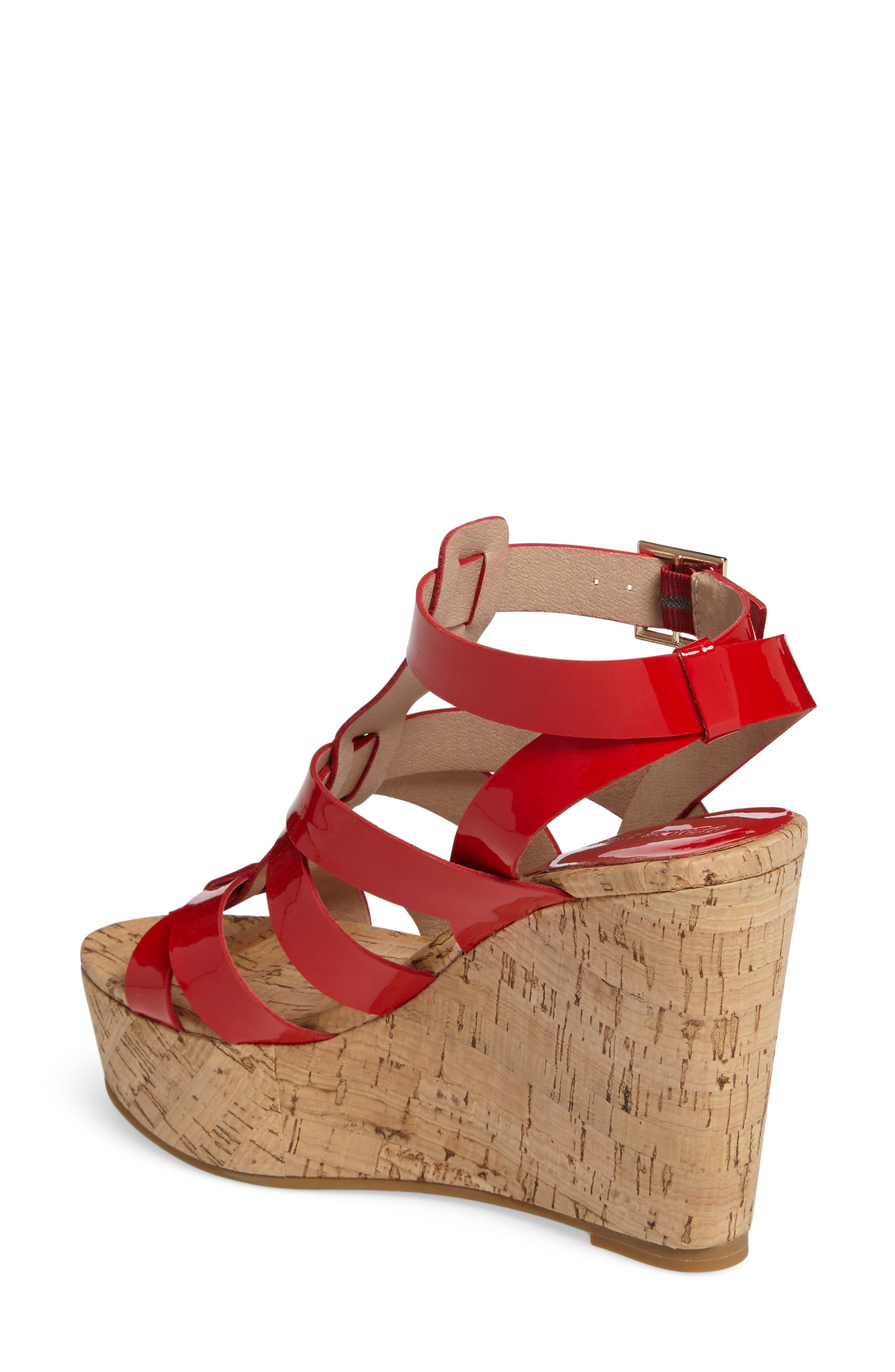 Rayjay Wedge Sandal,                             Alternate thumbnail 7, color,
