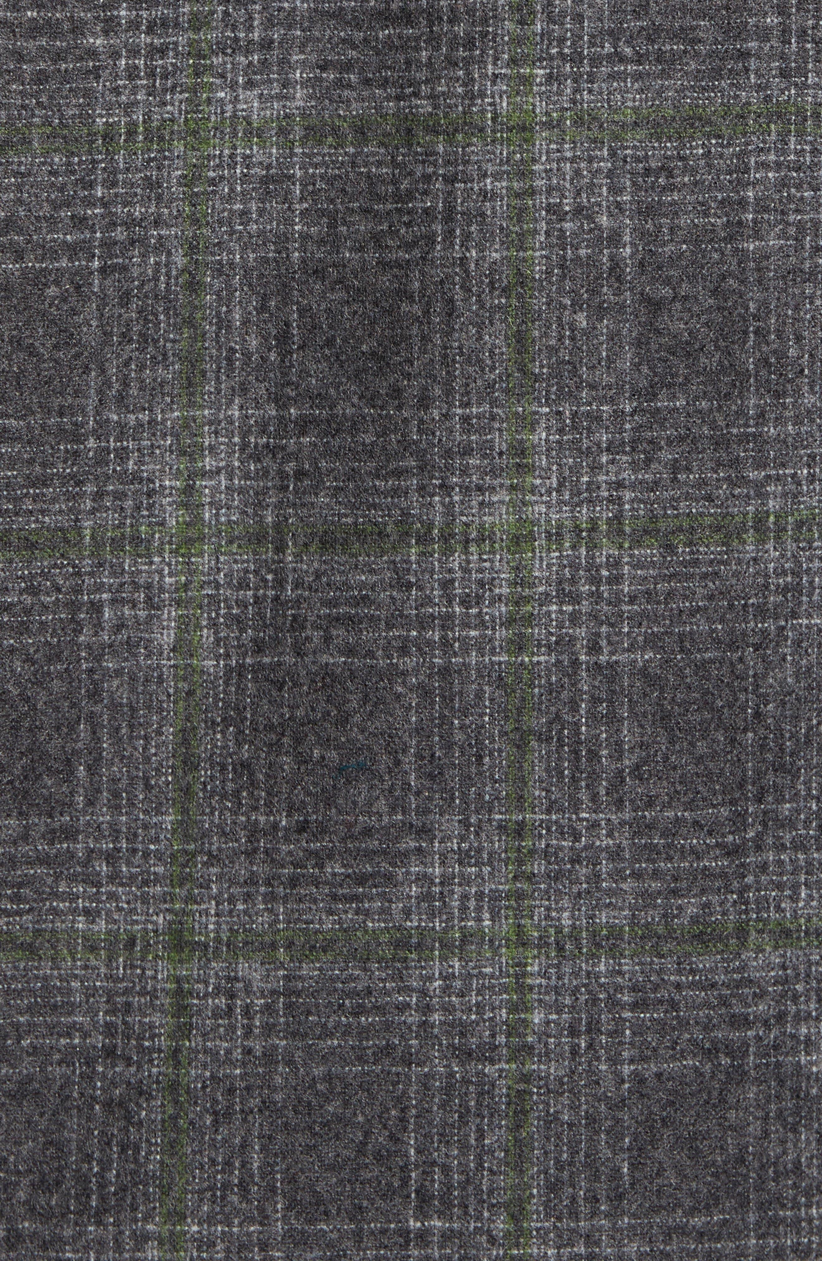 'Board' Regular Fit Flannel Shirt,                             Alternate thumbnail 5, color,                             031