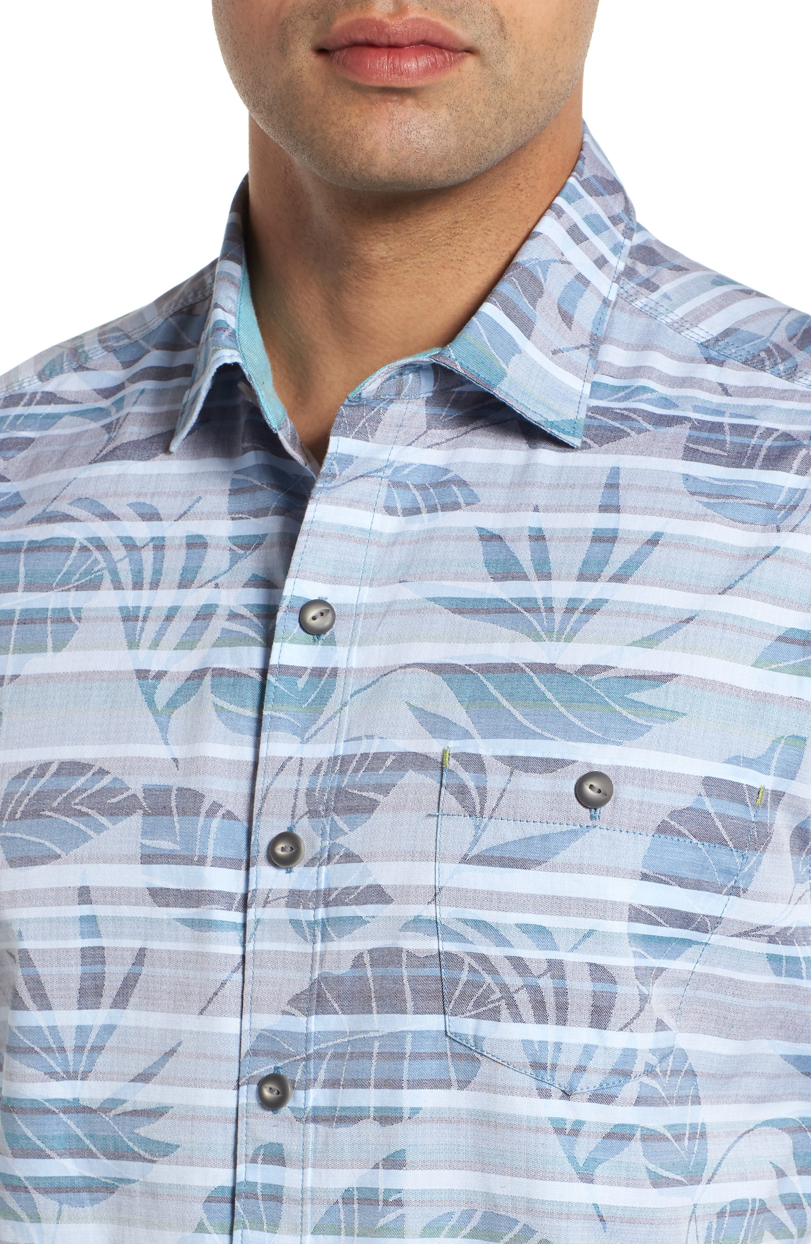 Playa of Paradise Regular Fit Camp Shirt,                             Alternate thumbnail 2, color,                             SEAGROVE