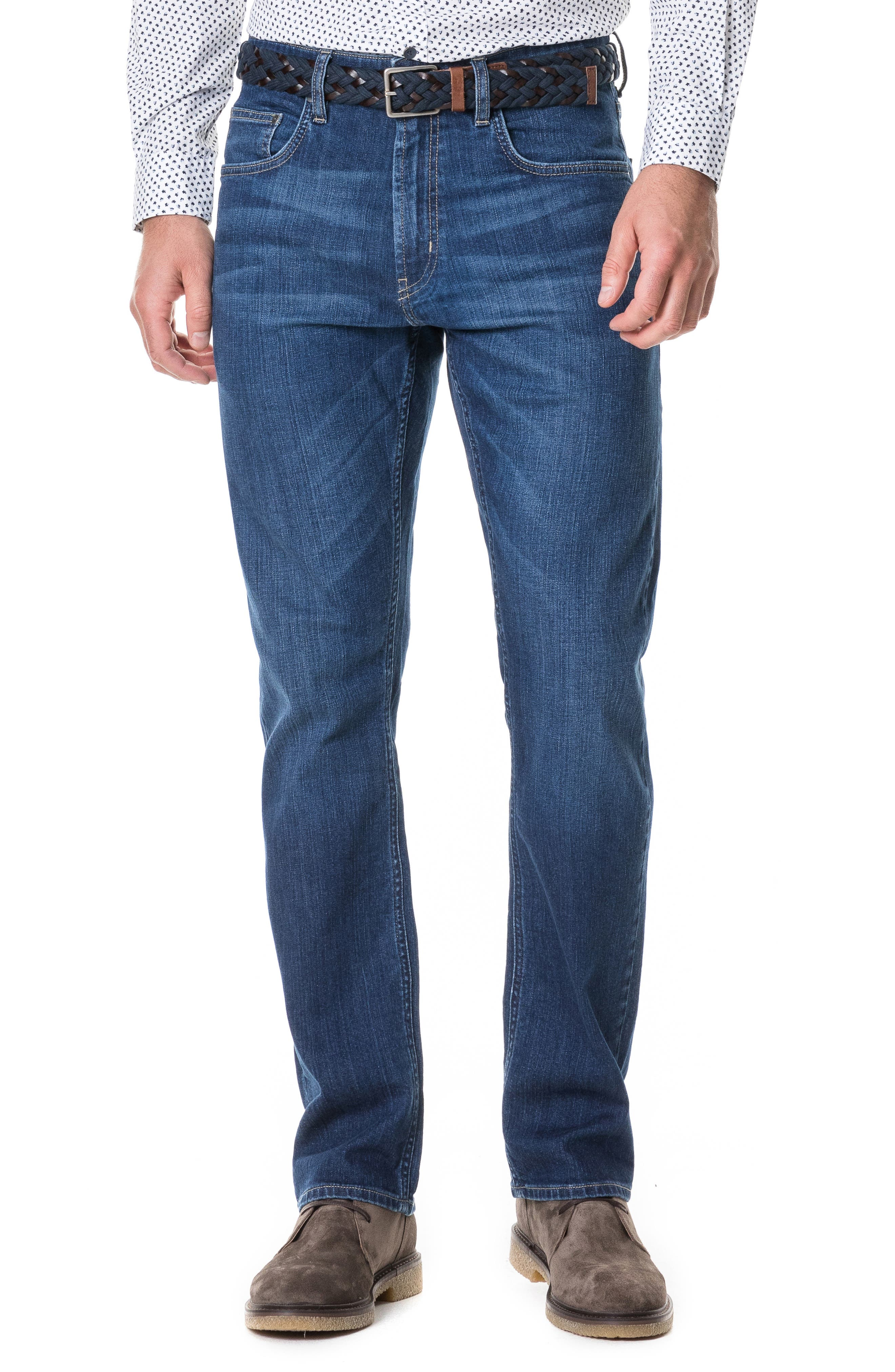 Byron Relaxed Fit Jeans,                             Main thumbnail 1, color,                             DENIM