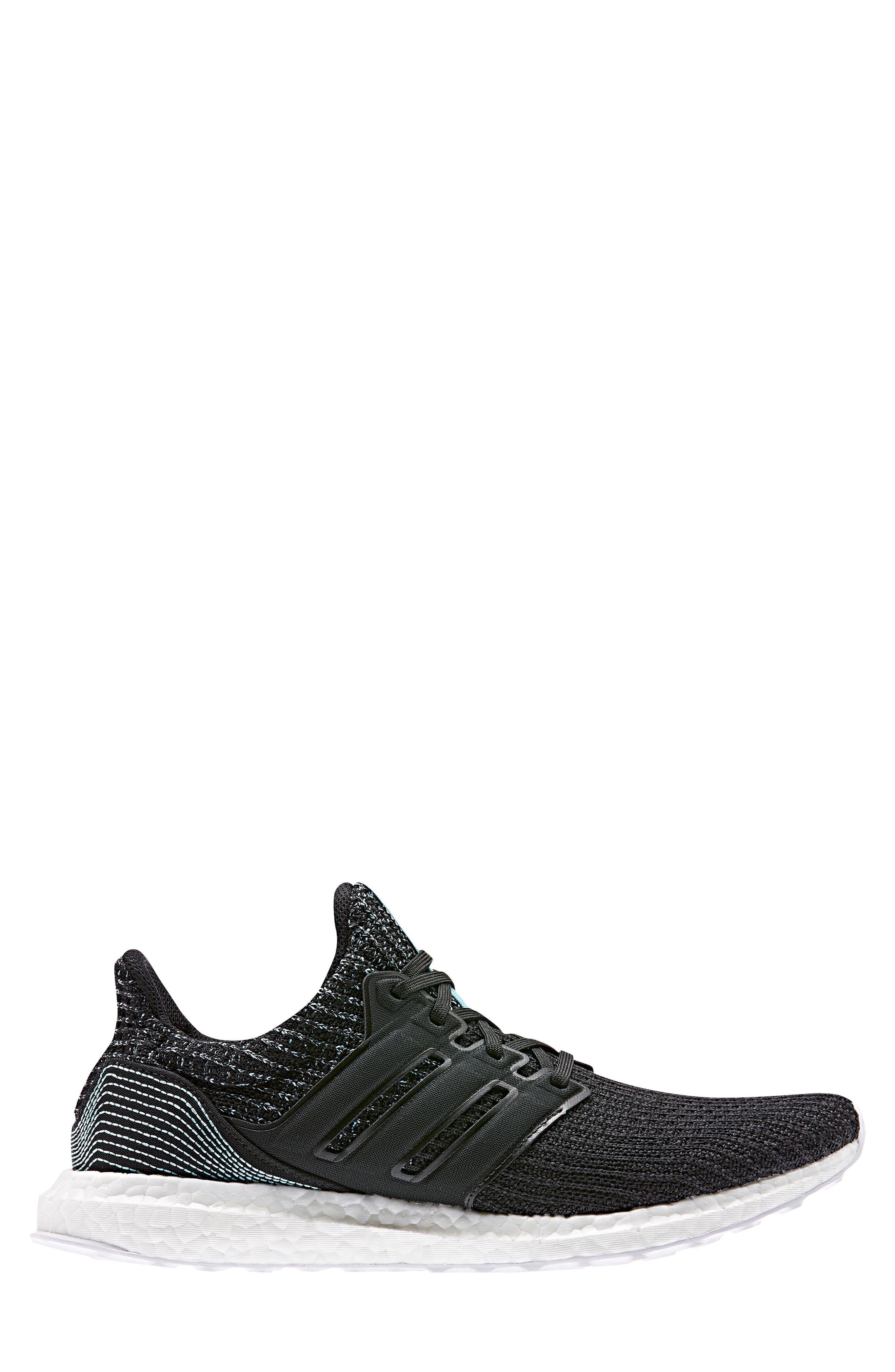 Parley UltraBoost Sneaker,                             Alternate thumbnail 3, color,                             001