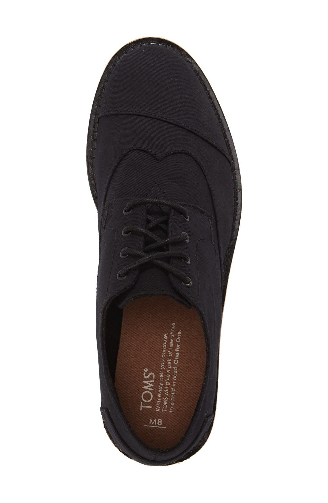 'Classic Brogue' Cotton Twill Derby,                             Alternate thumbnail 35, color,