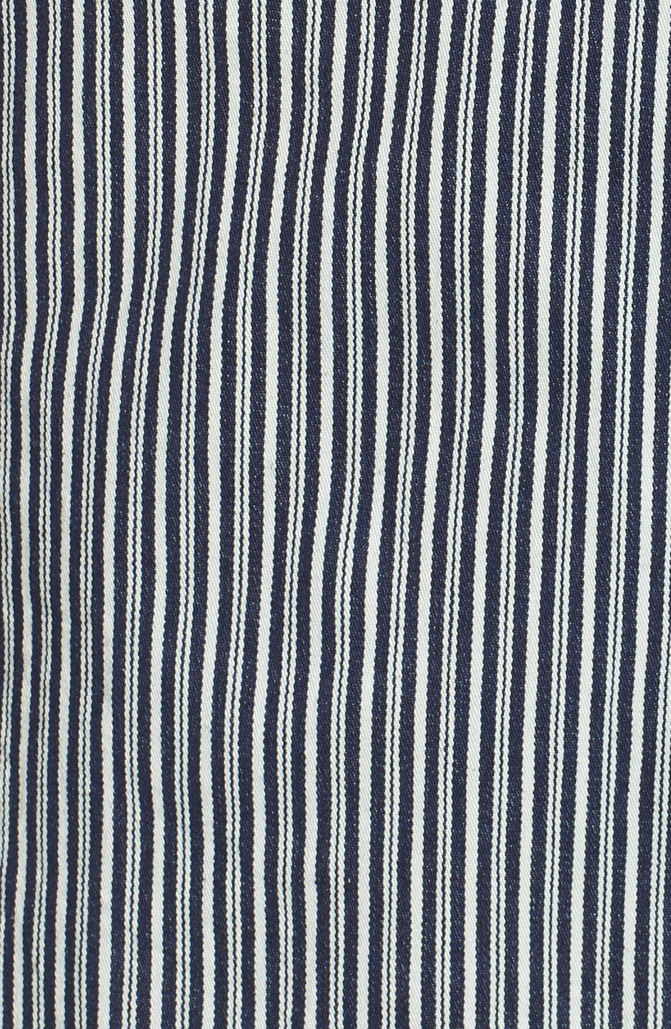 Santa Rose Stripe Sundress,                             Alternate thumbnail 6, color,                             457