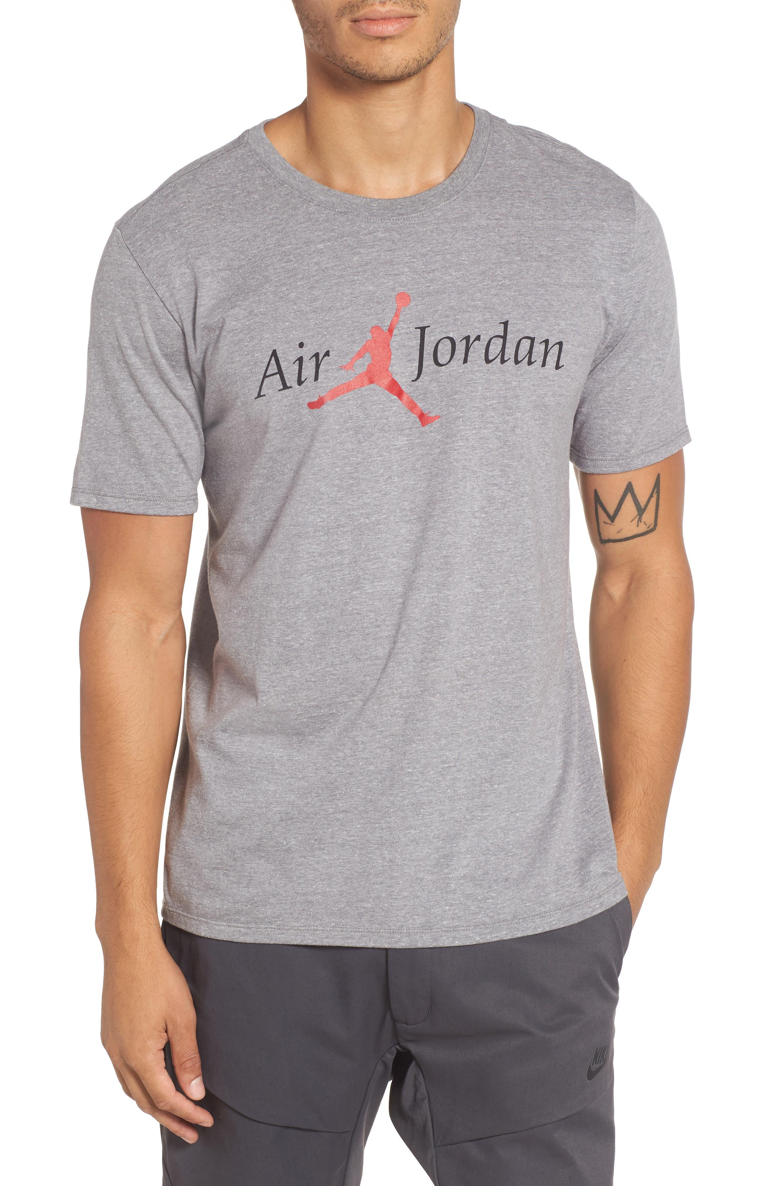 Nike Jordan Air Jordan 5 Graphic T-Shirt Grey