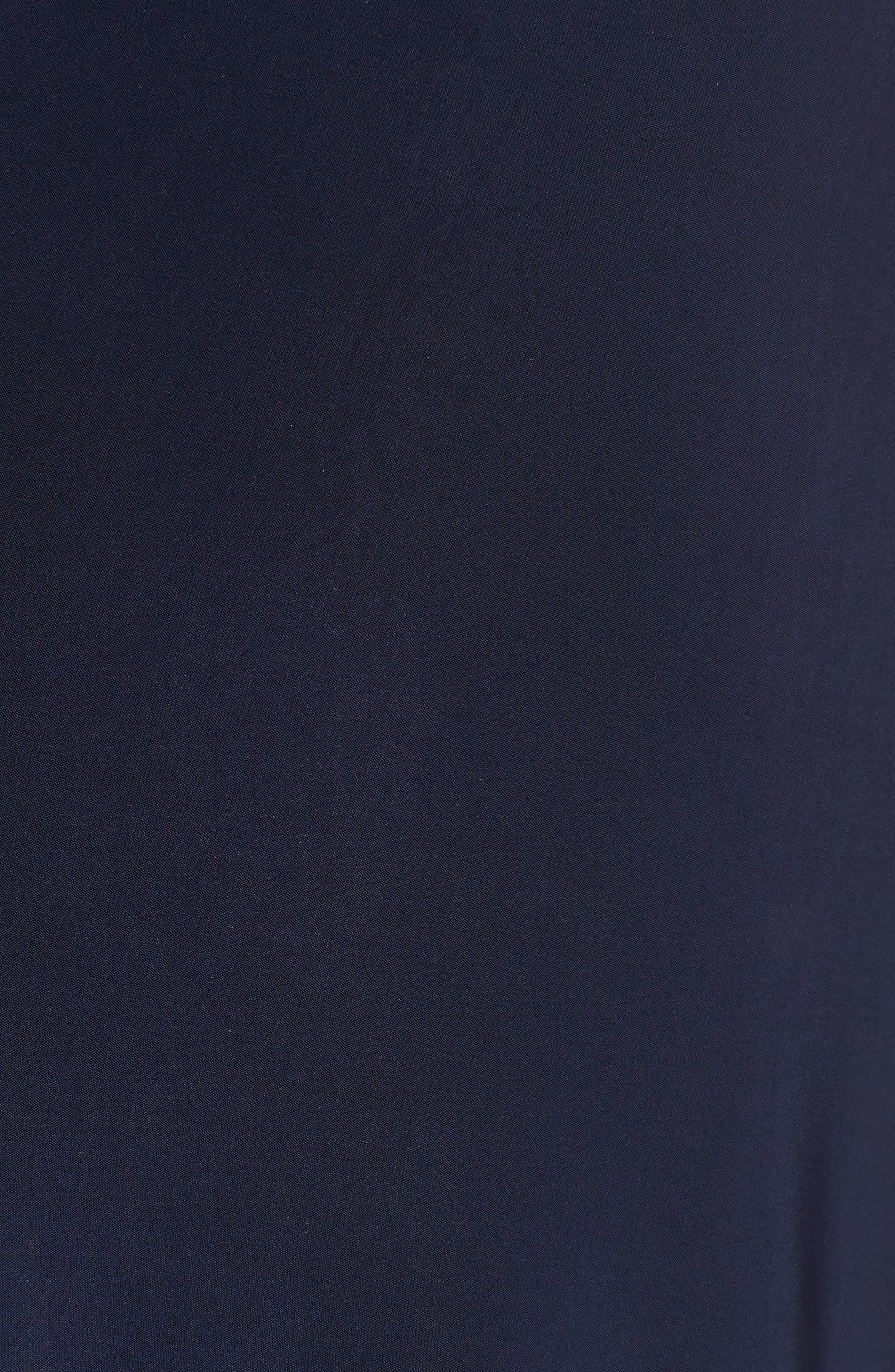 Domino Knot Maxi Dress,                             Alternate thumbnail 6, color,                             MIDNIGHT