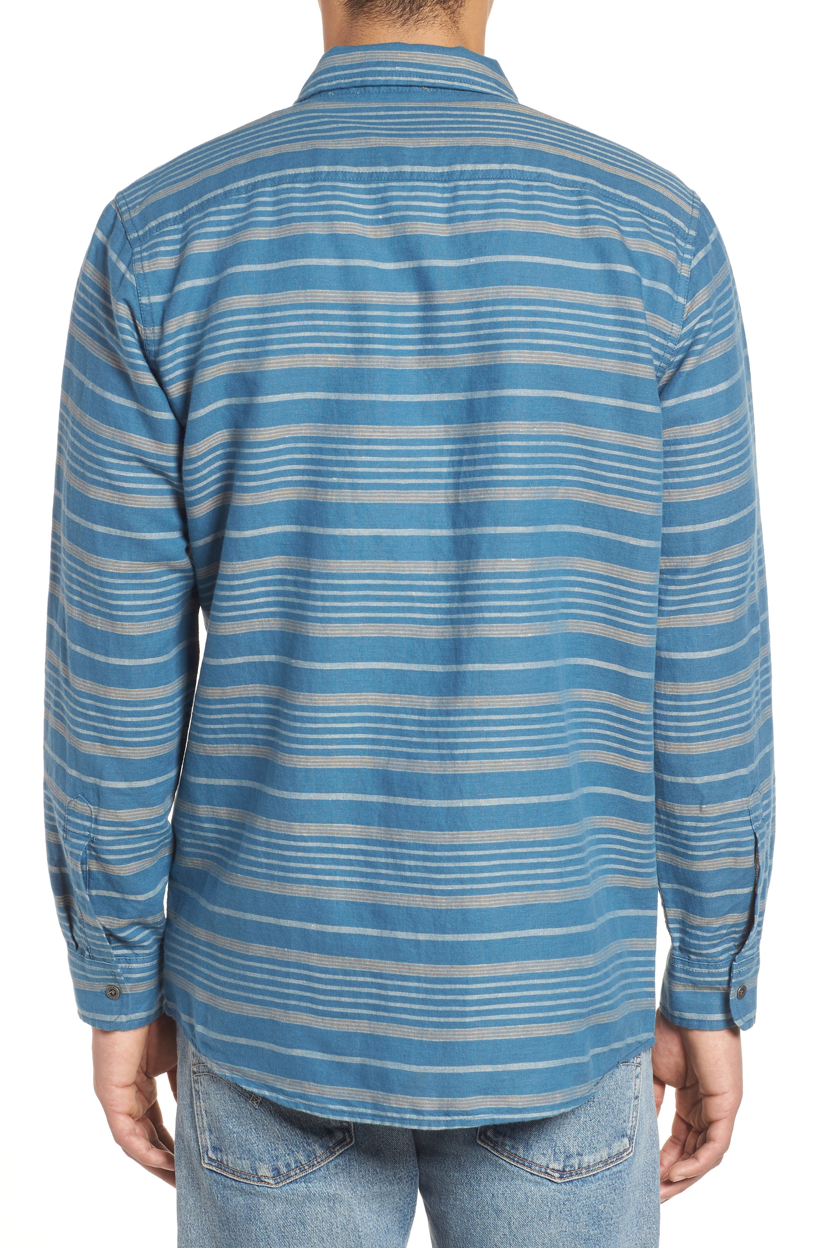 Kay Street Fitted Shirt,                             Alternate thumbnail 2, color,                             425