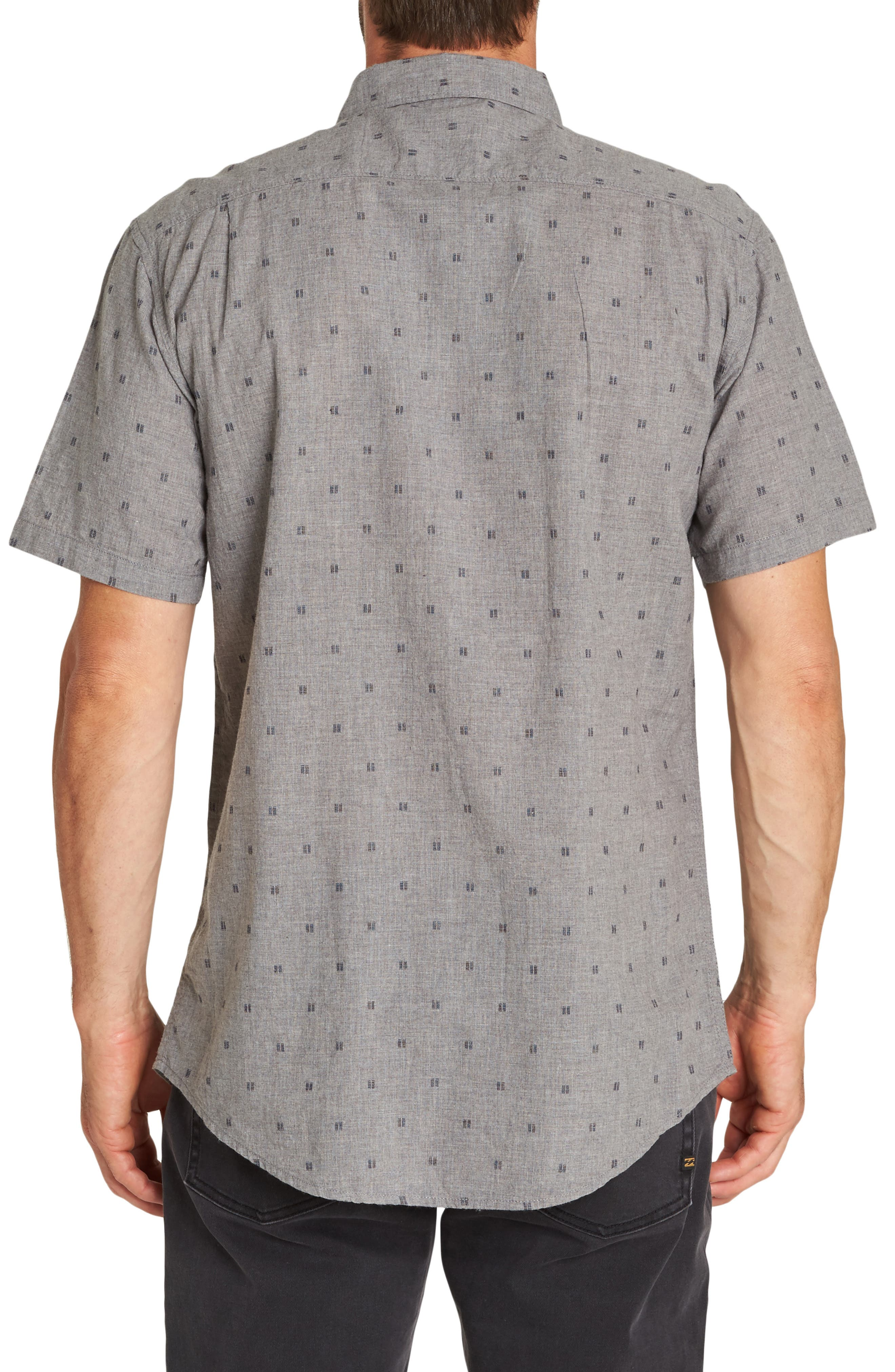 All Day Jacquard Shirt,                             Alternate thumbnail 2, color,                             PEWTER HEATHER