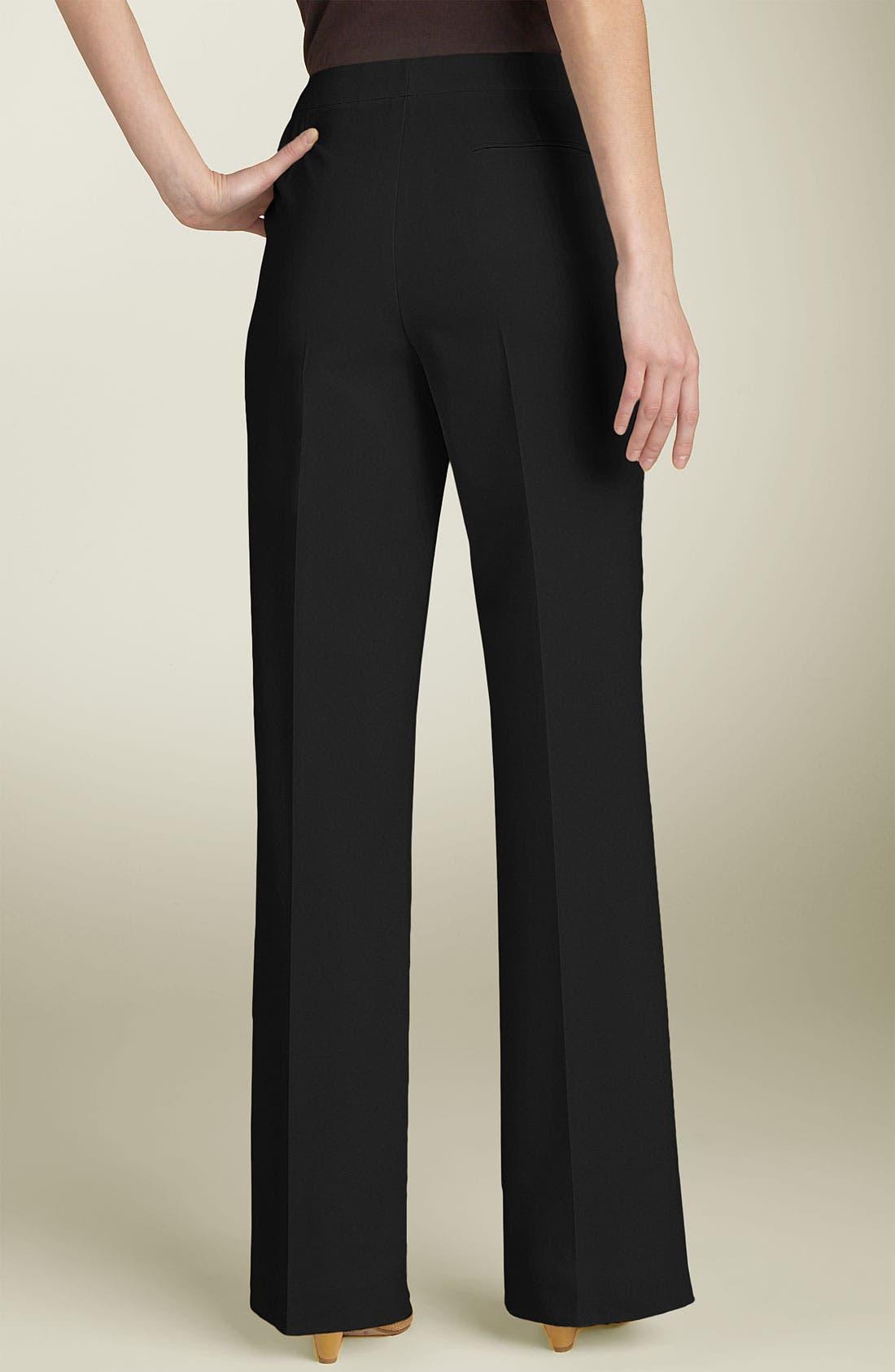 Menswear Trousers,                             Alternate thumbnail 9, color,                             BLACK