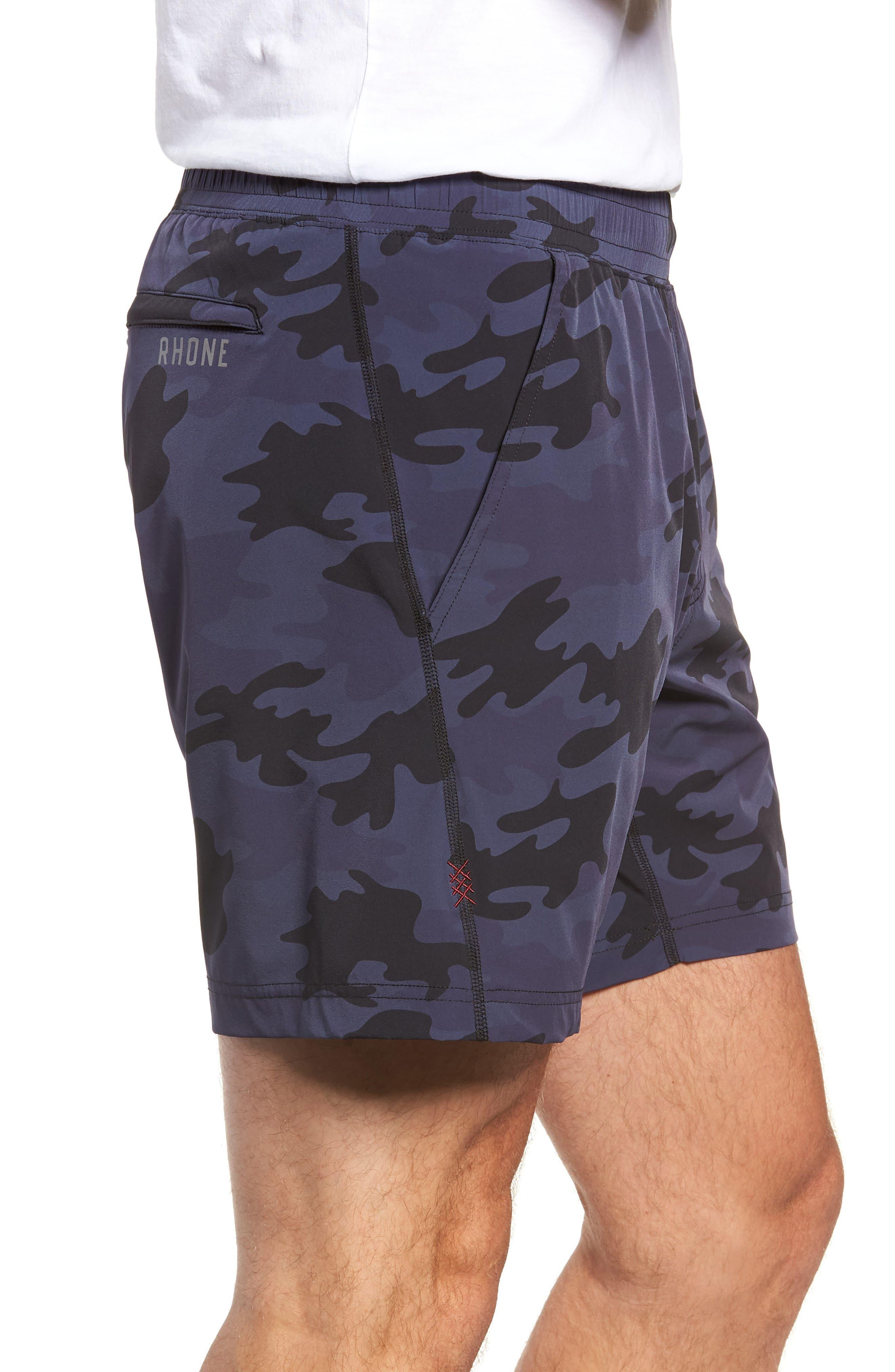 Mako Training Shorts,                             Alternate thumbnail 3, color,                             NAVY CAMO
