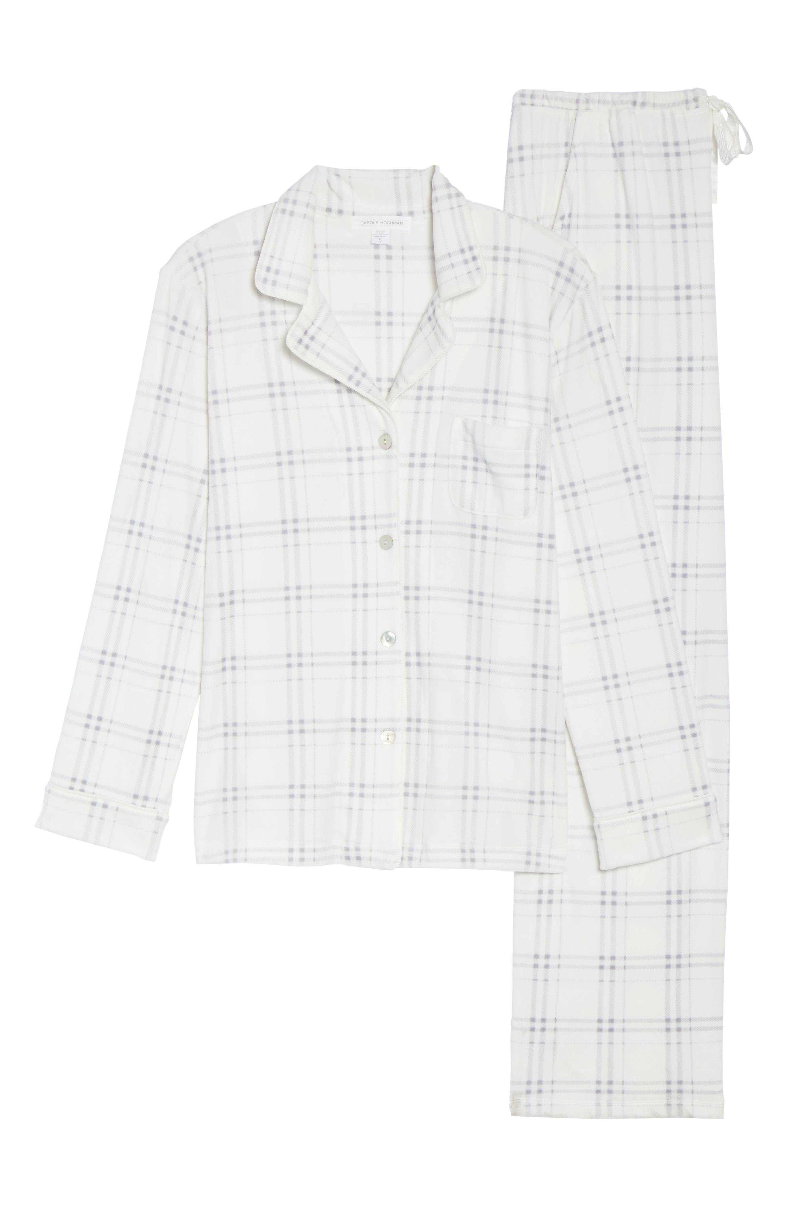 Fleece Pajamas,                             Alternate thumbnail 6, color,                             100