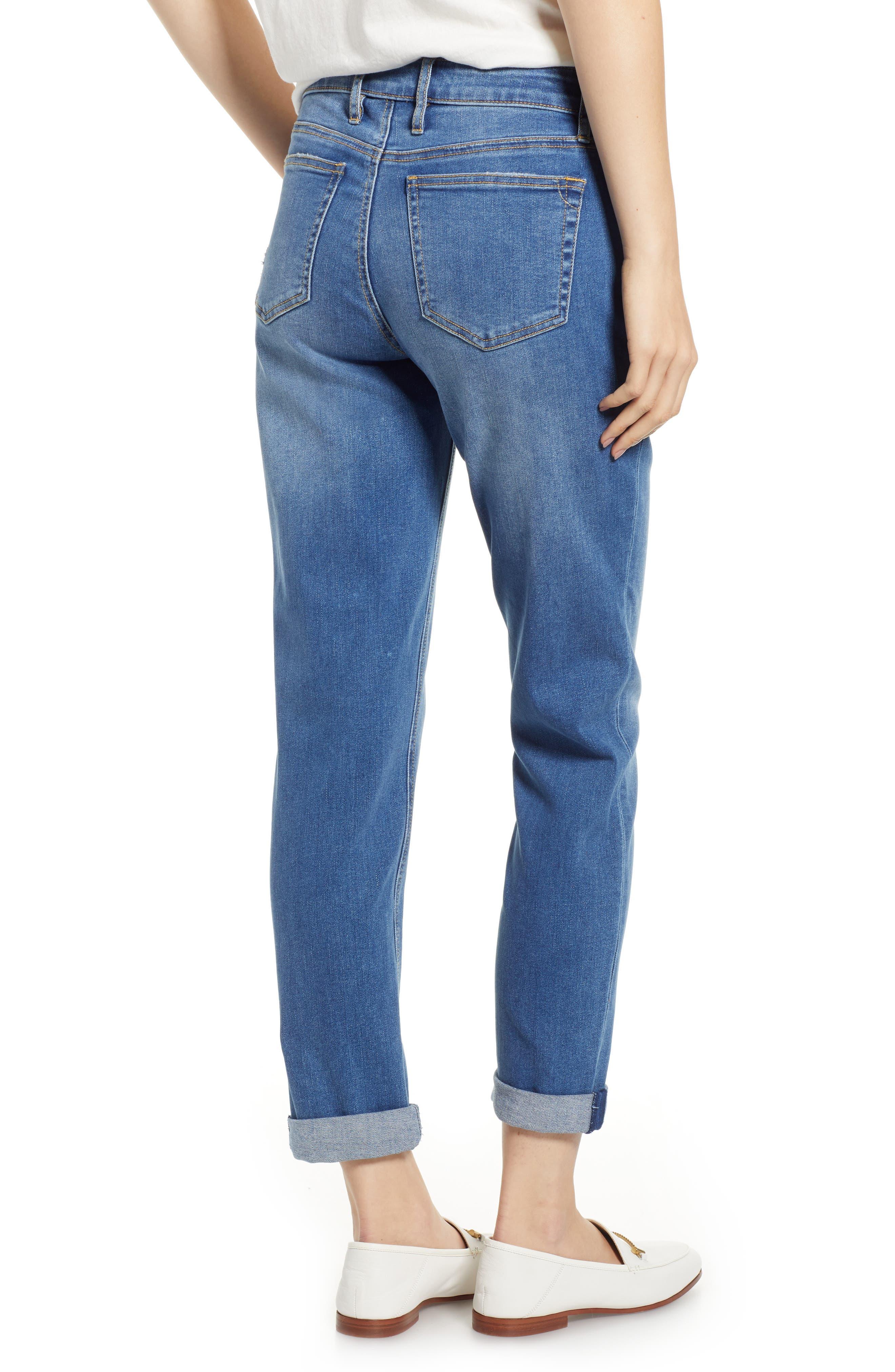 Tema Slim Boyfriend Jeans,                             Alternate thumbnail 7, color,