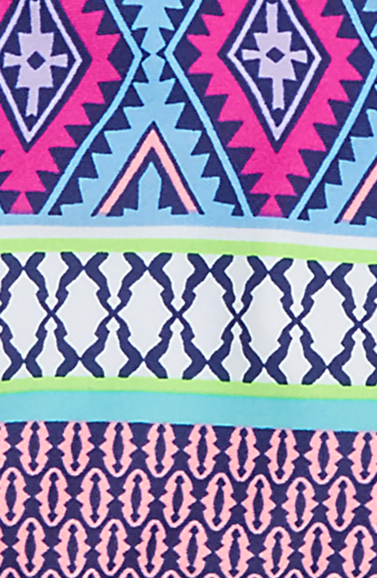 Stripe Fusion Two-Piece Swimsuit,                             Alternate thumbnail 3, color,                             476