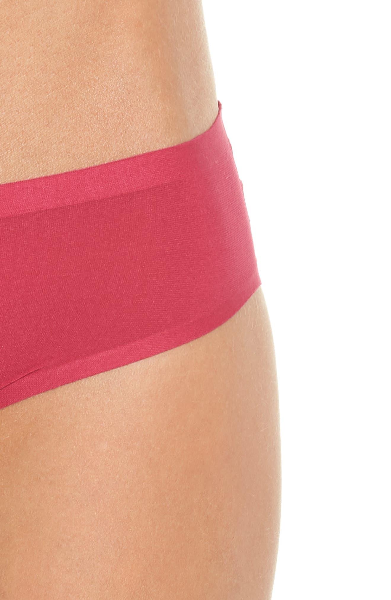 Soft Stretch Seamless Bikini,                             Alternate thumbnail 4, color,                             MAGENTA