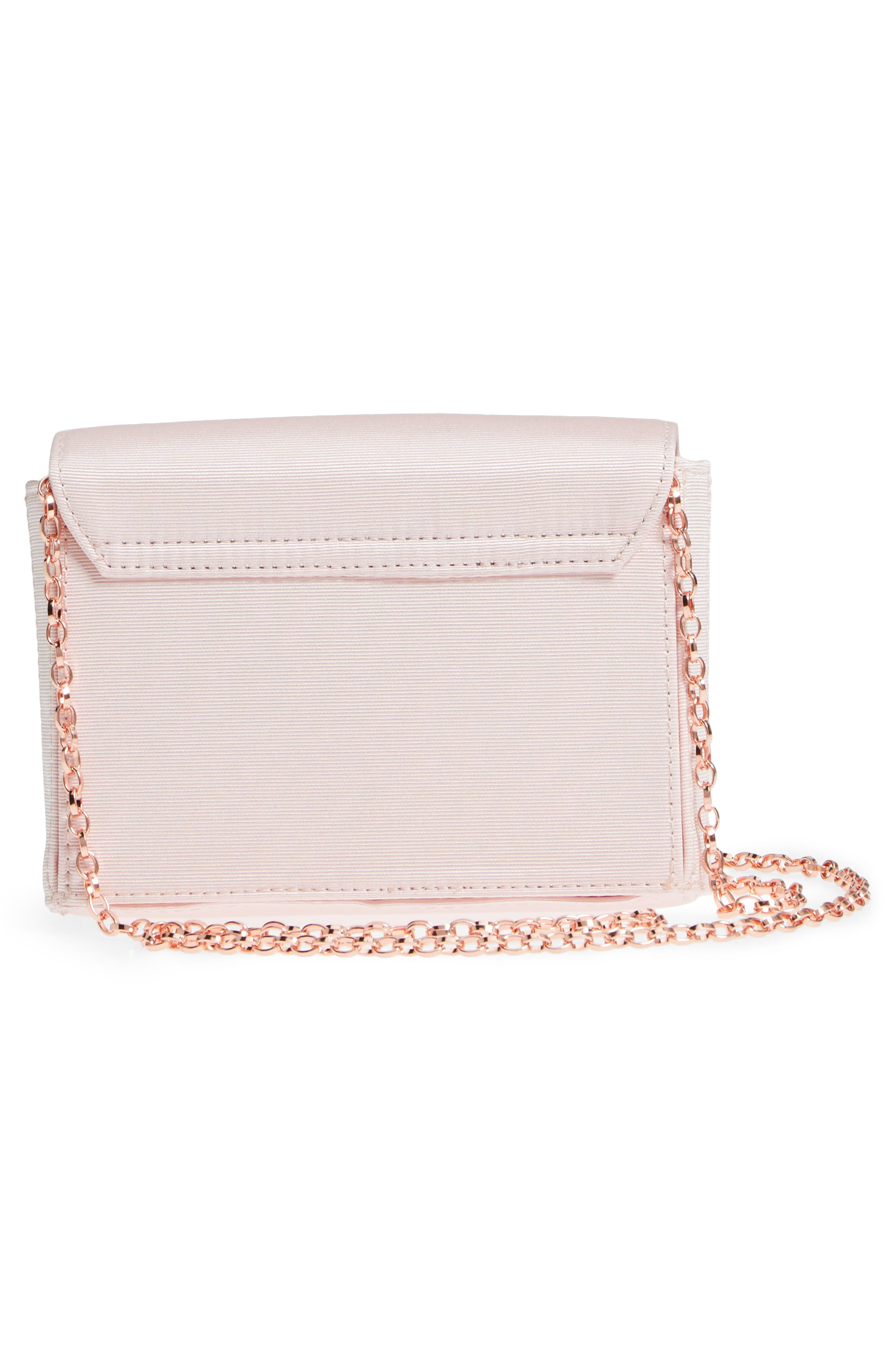 Looped Bow Clutch,                             Alternate thumbnail 6, color,