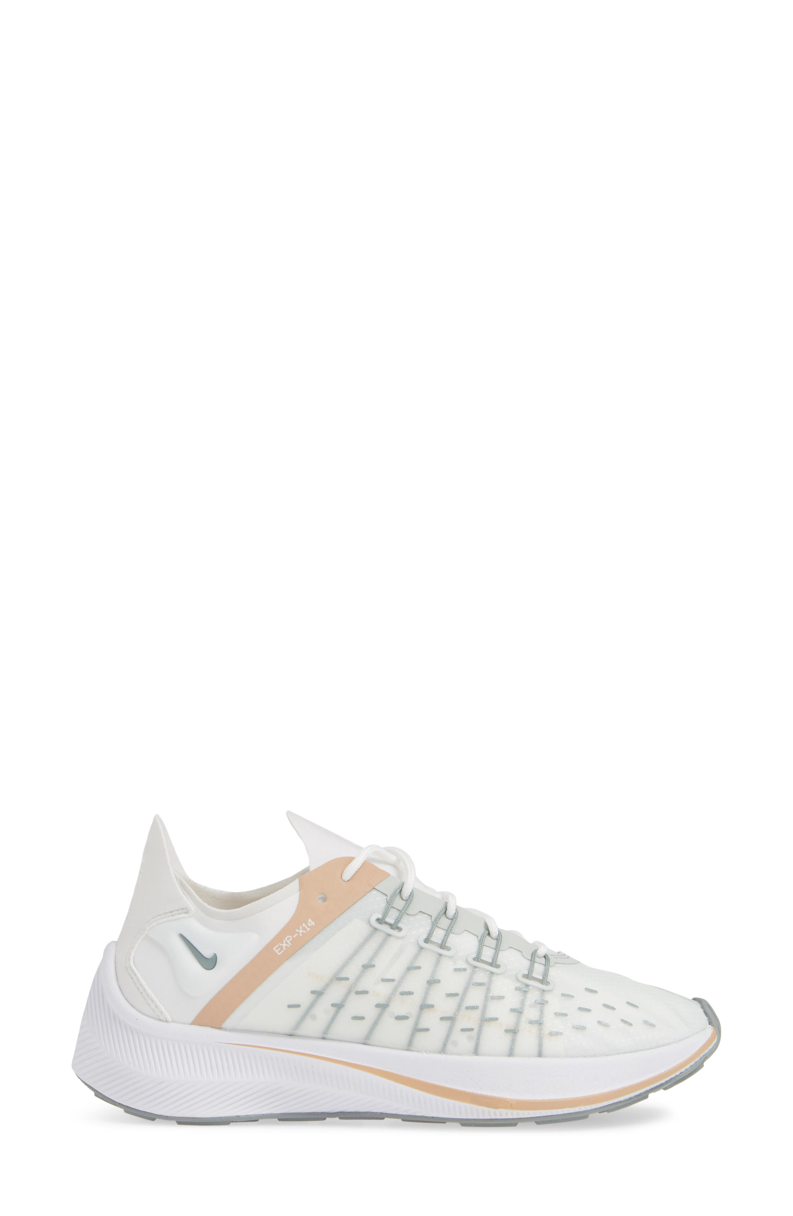EXP-X14 Sneaker,                             Alternate thumbnail 3, color,                             SUMMIT WHITE/ LIGHT SILVER