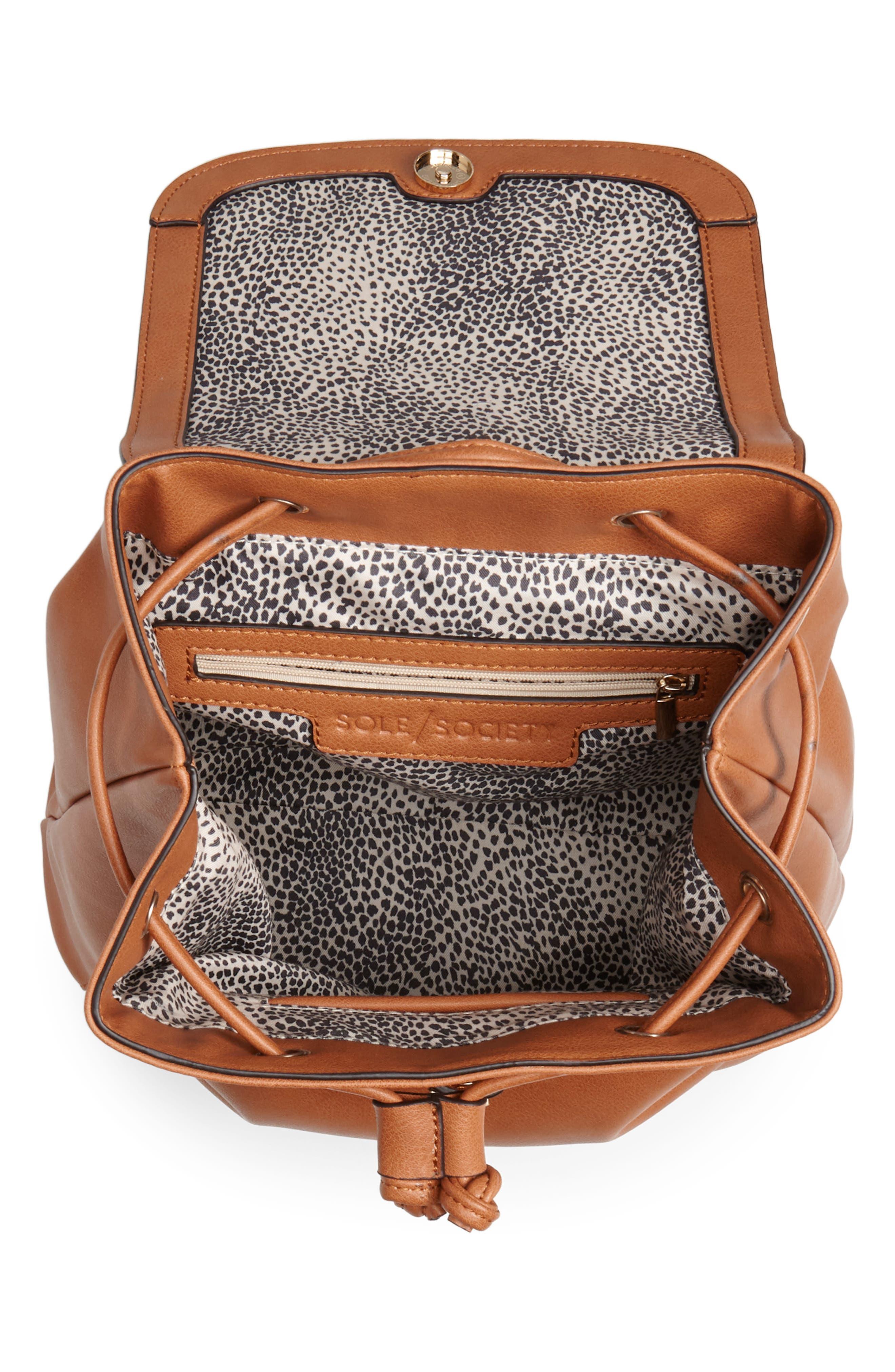 Buhck Backpack,                             Alternate thumbnail 4, color,                             COGNAC