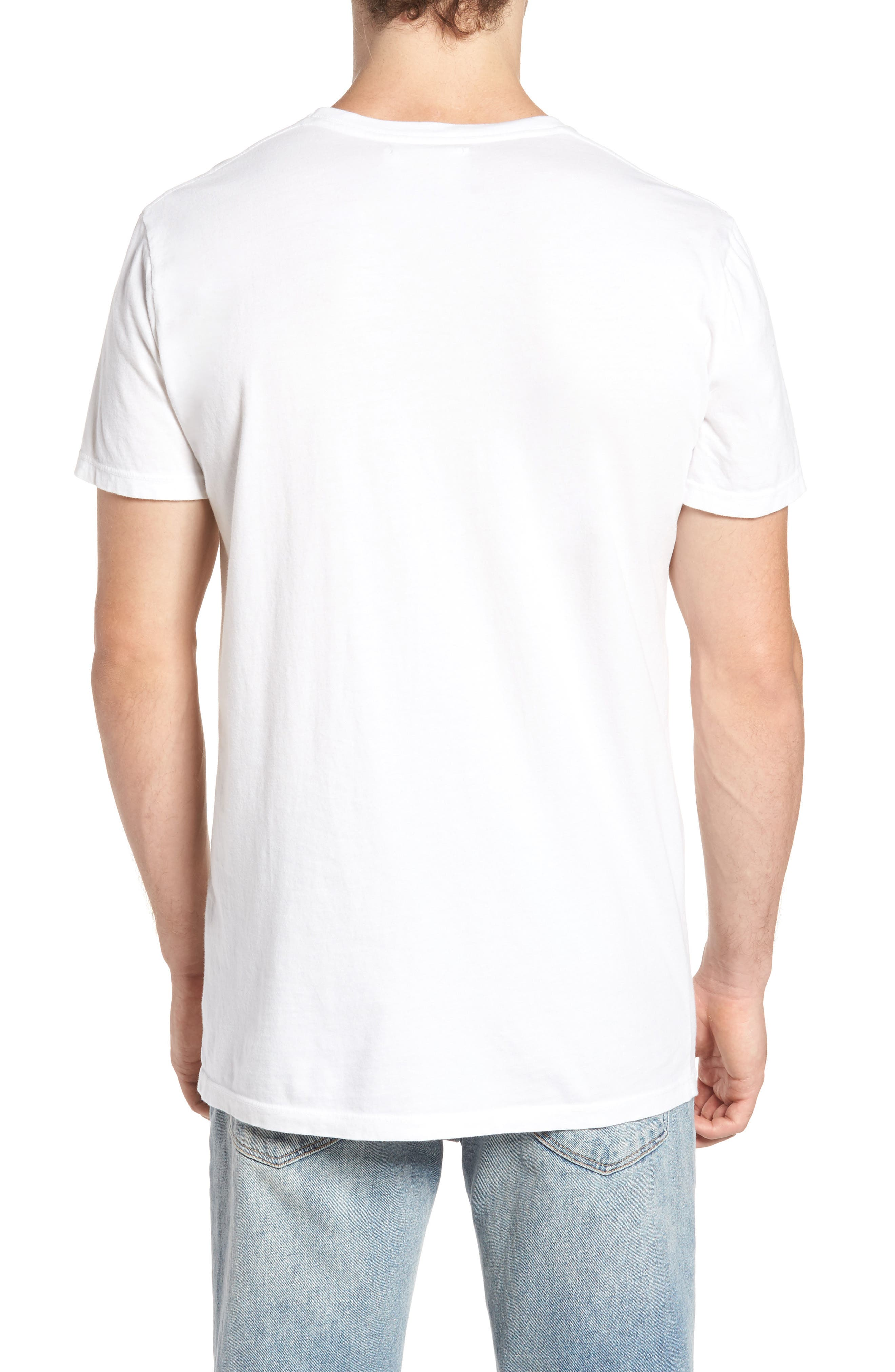 Lined Circle Graphic T-Shirt,                             Alternate thumbnail 2, color,                             100
