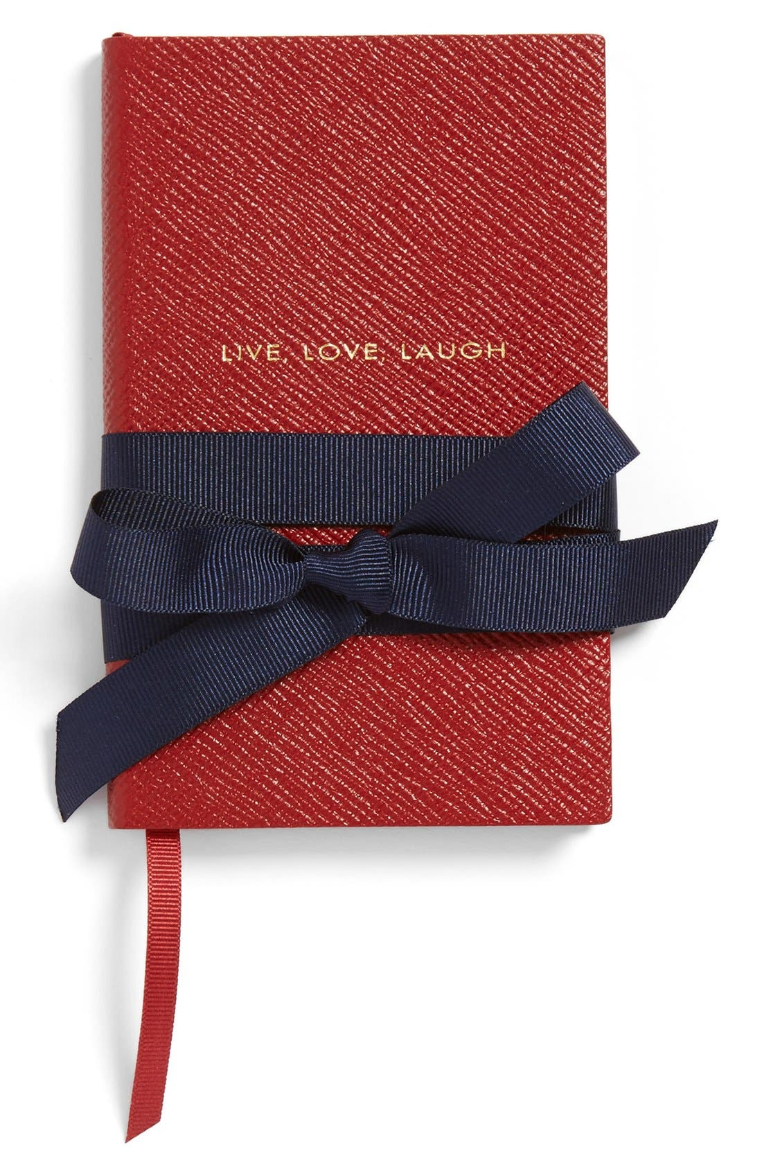 'Live Love Laugh Panama' Pocket Notebook,                             Alternate thumbnail 3, color,                             RED