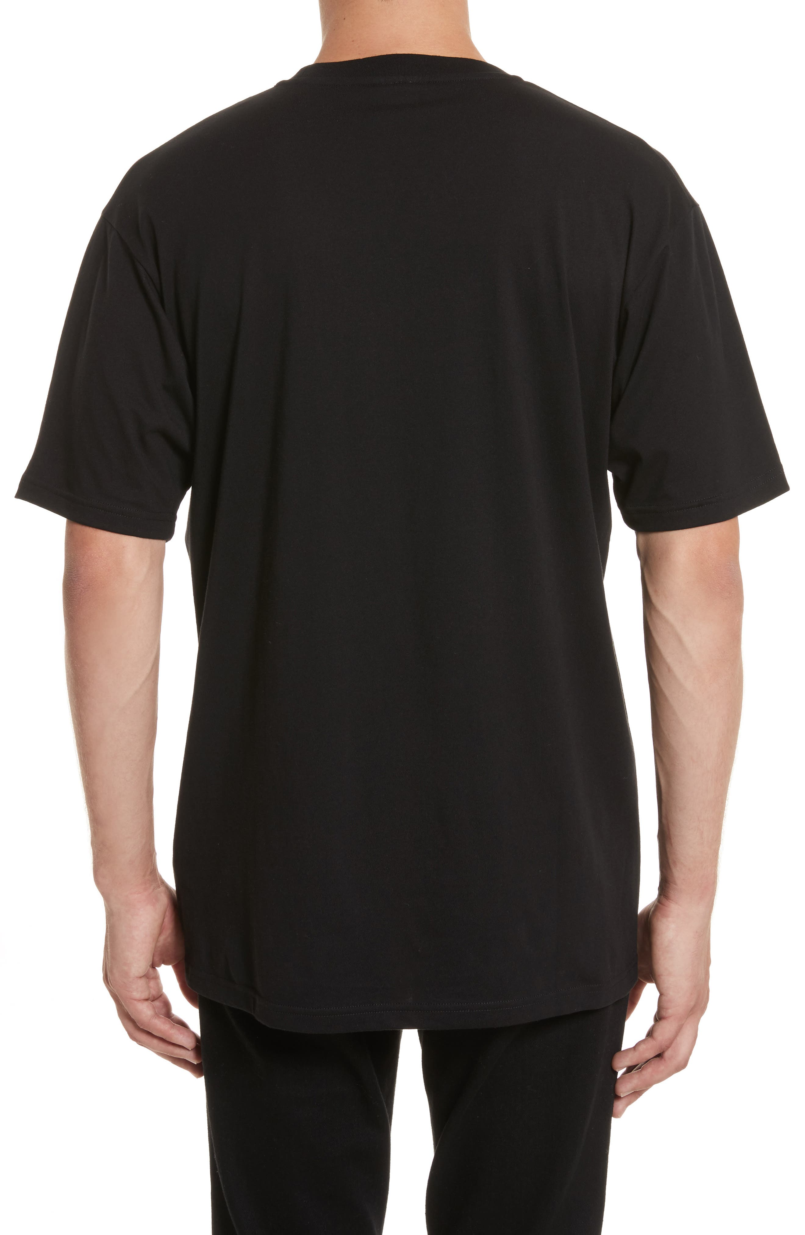 VERSUS by Versace Electric Lion Graphic T-Shirt,                             Alternate thumbnail 2, color,                             005