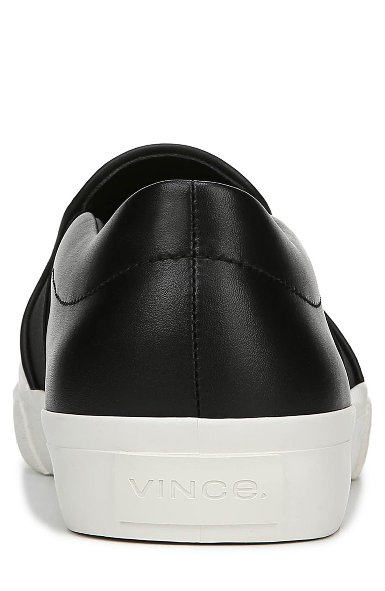 Fenton Slip-On  Sneaker,                             Alternate thumbnail 7, color,                             BLACK/ BLACK