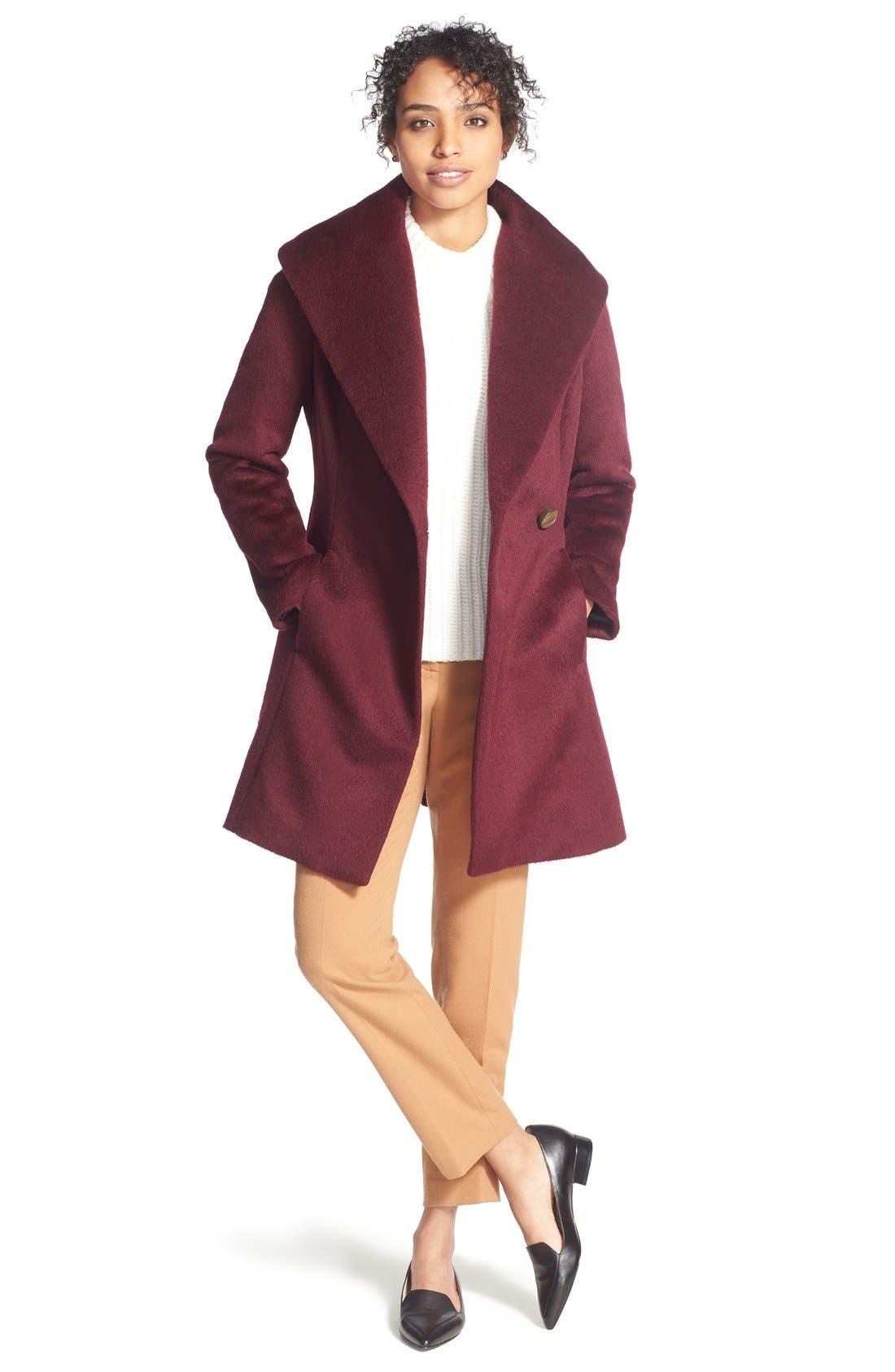 Mock Neck Sweater,                             Alternate thumbnail 4, color,                             900