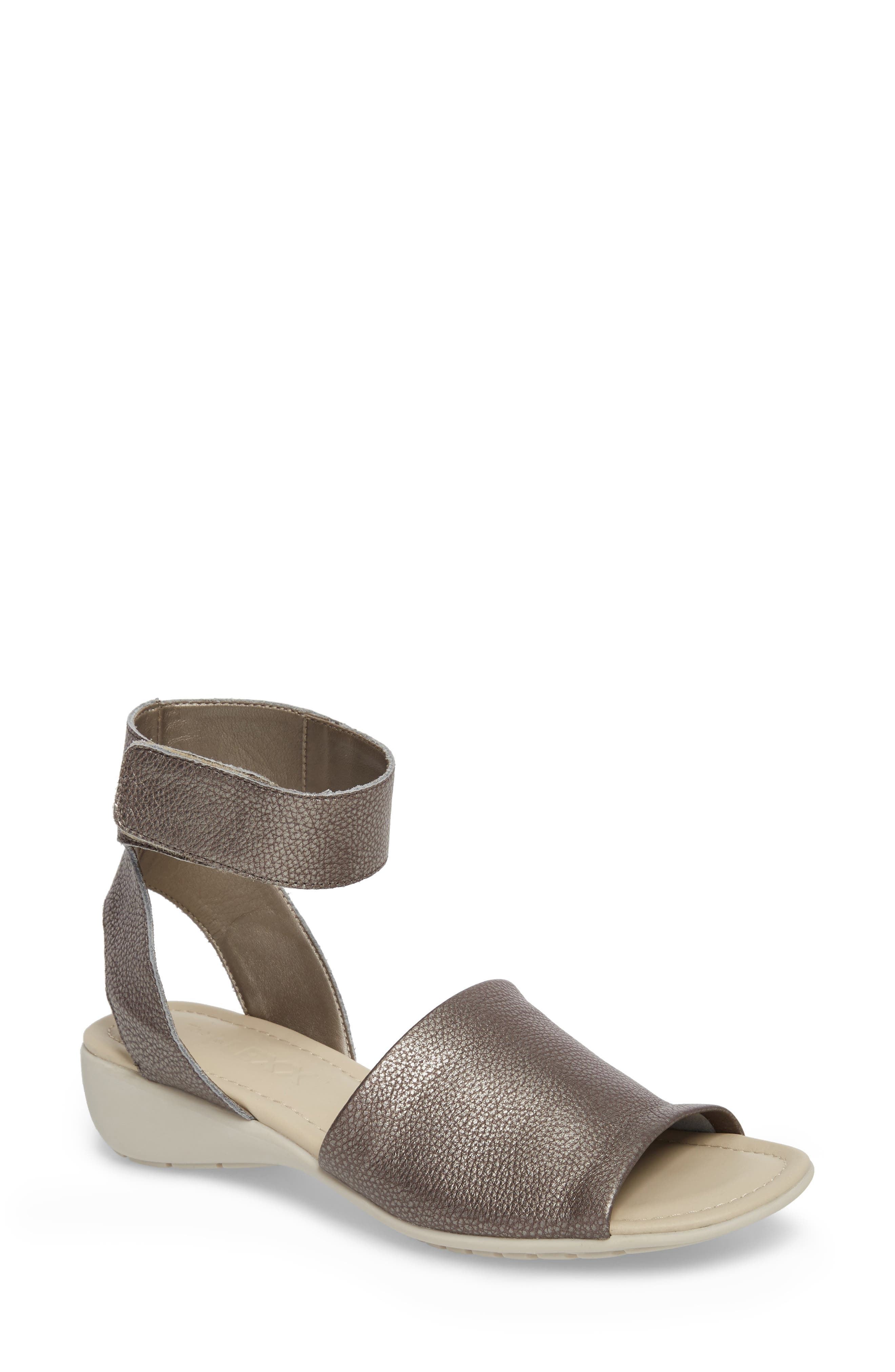 'Beglad' Leather Ankle Strap Sandal,                             Main thumbnail 2, color,
