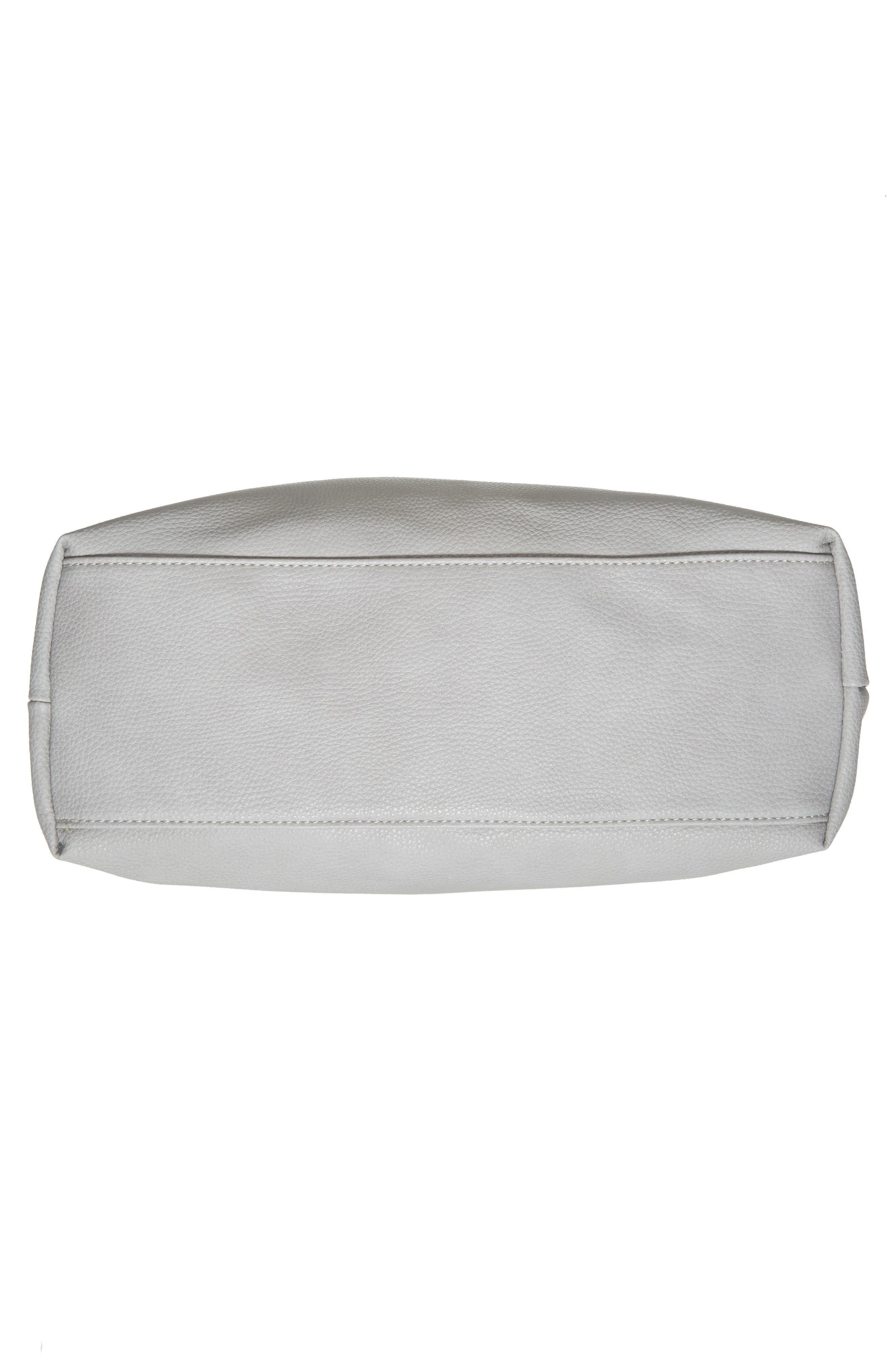 Taylor Faux Leather Shoulder Bag,                             Alternate thumbnail 17, color,