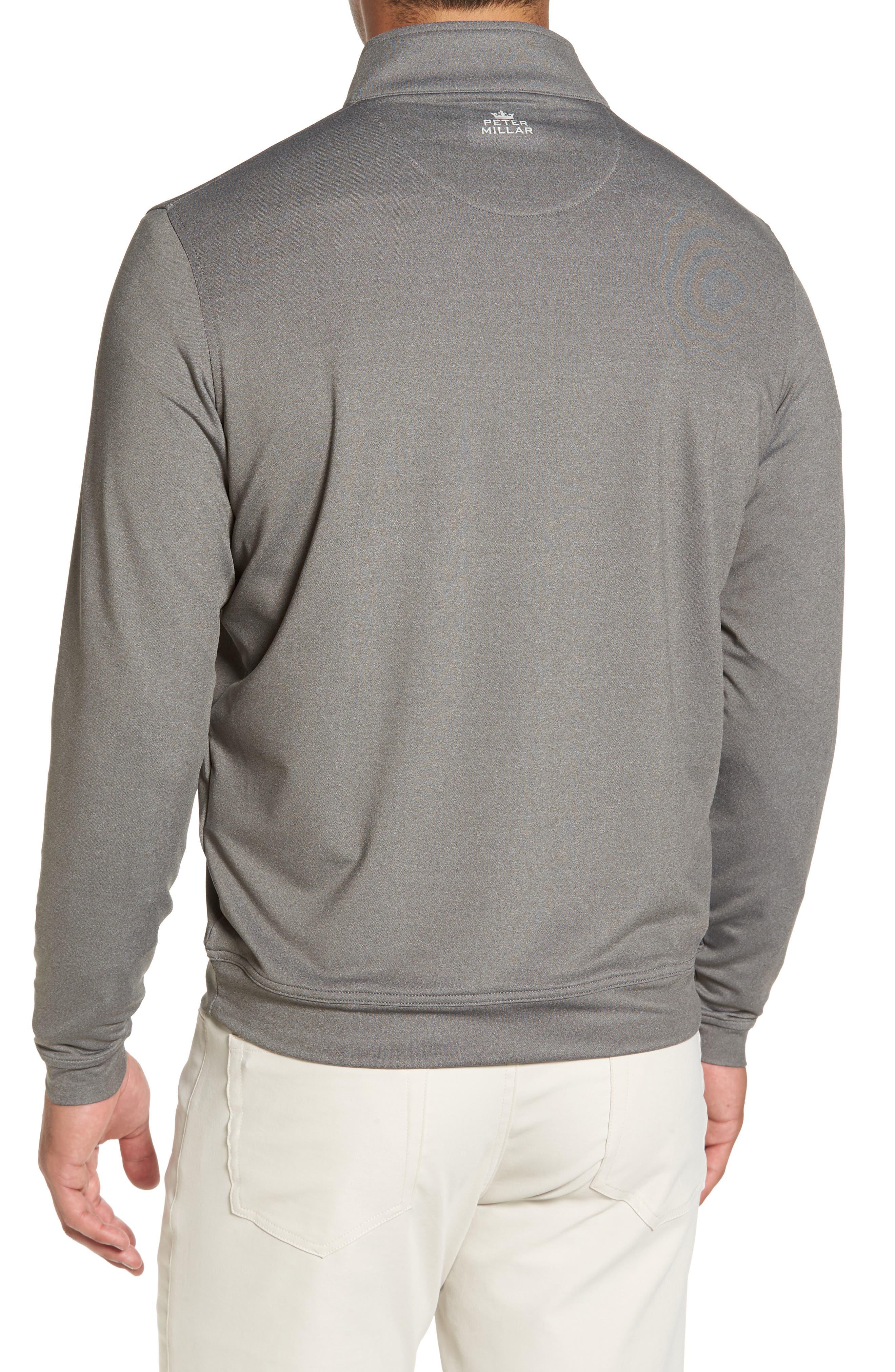 Perth Quarter Zip Stretch Pullover,                             Alternate thumbnail 6, color,
