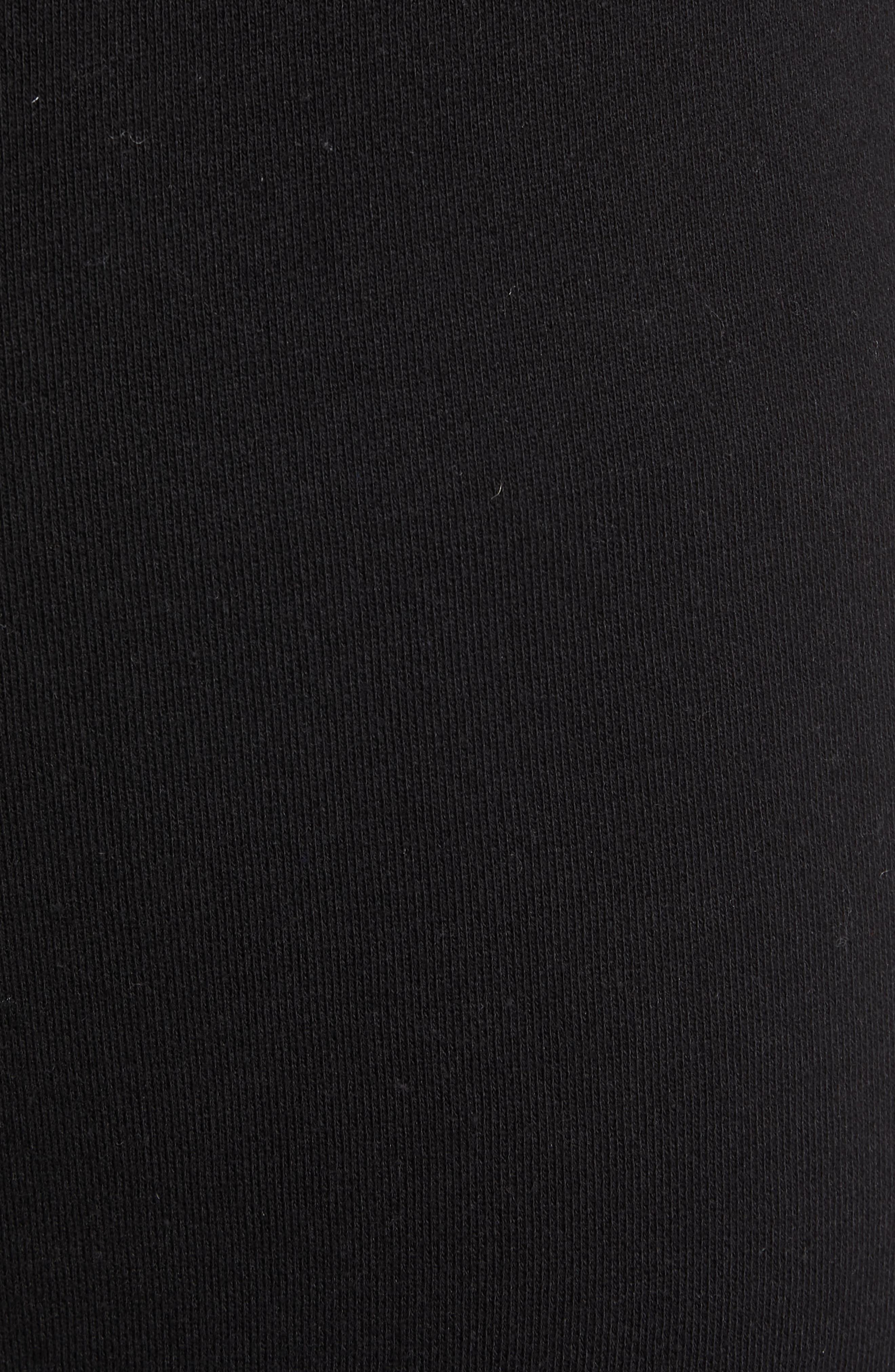 CLUB MONACO,                             Articulated Seam Jogger Pants,                             Alternate thumbnail 5, color,                             001
