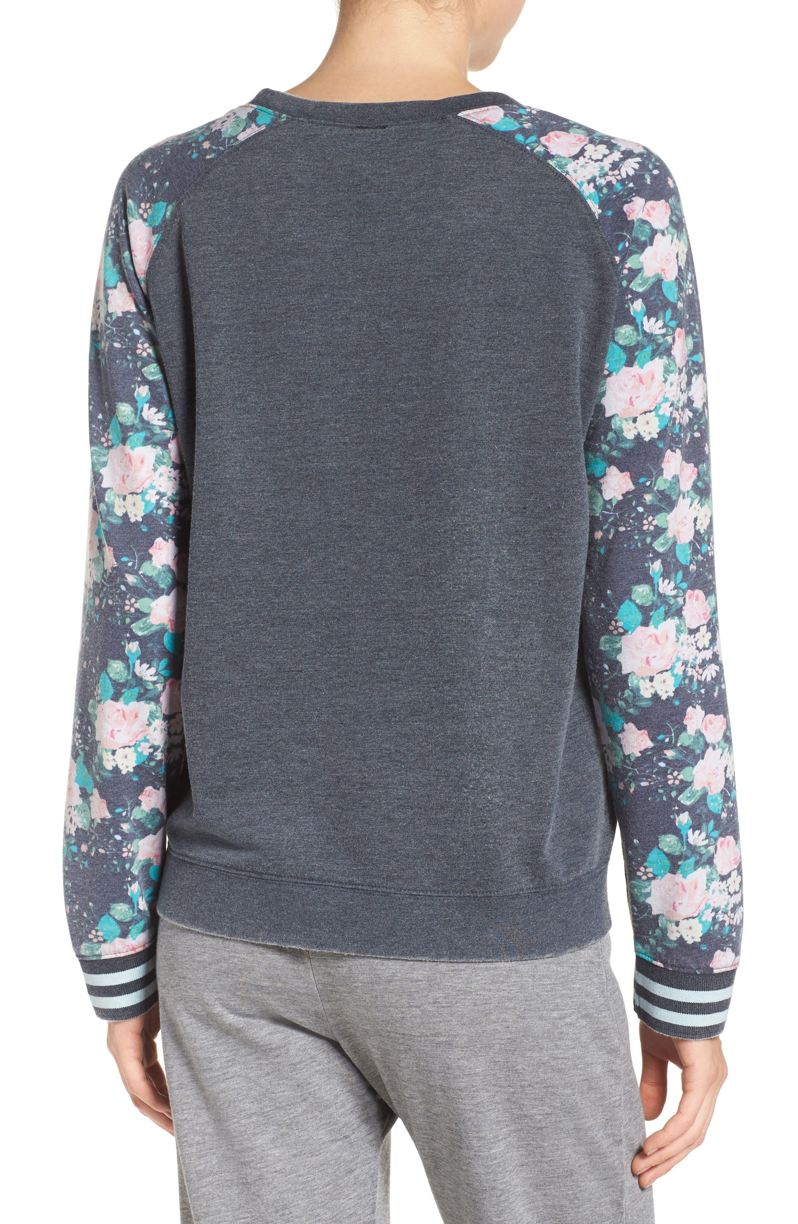 Burnout Lounge Sweatshirt,                             Alternate thumbnail 75, color,