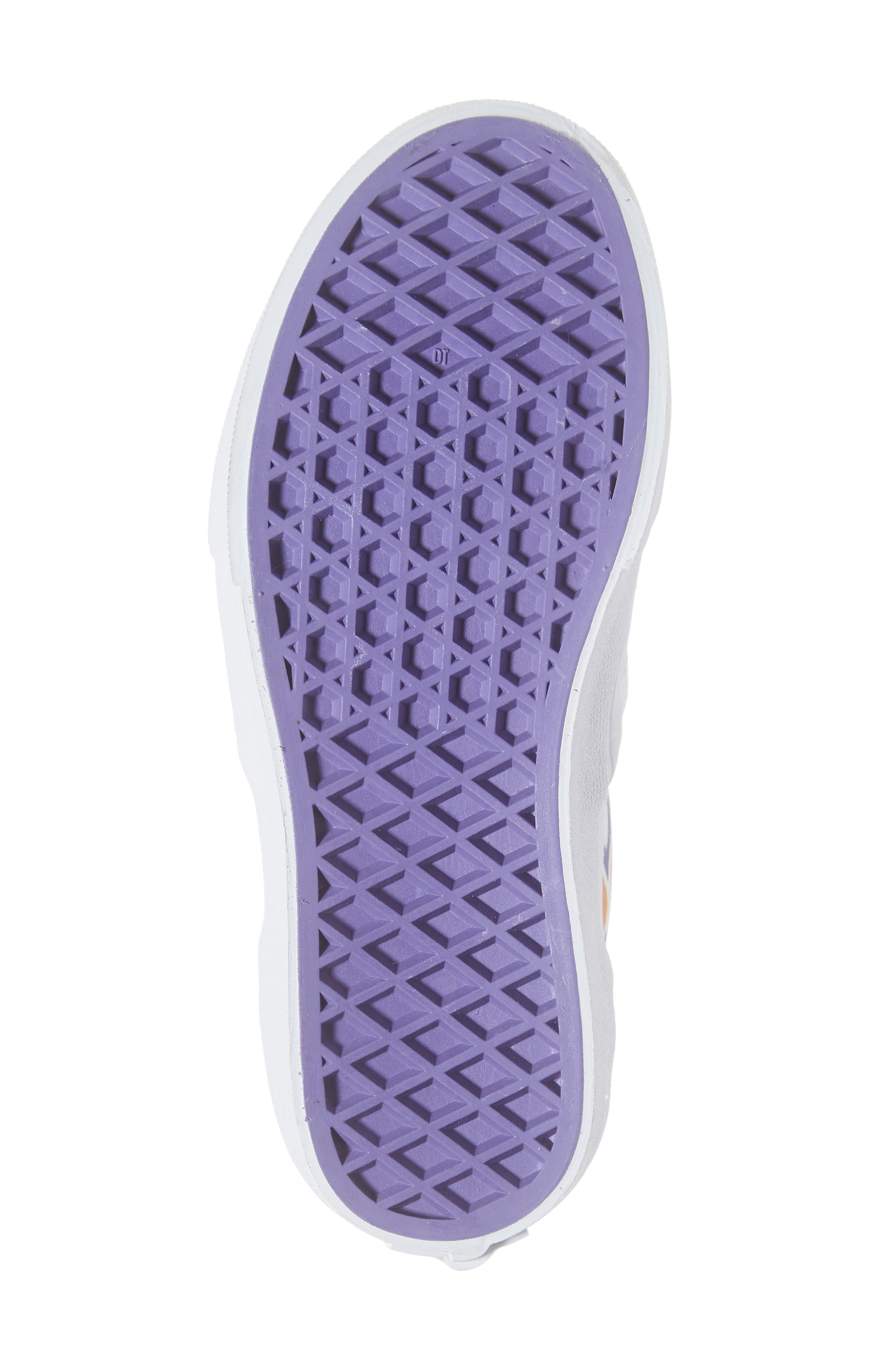 VANS,                             Classic Slip-On Glitter Sneaker,                             Alternate thumbnail 6, color,                             110