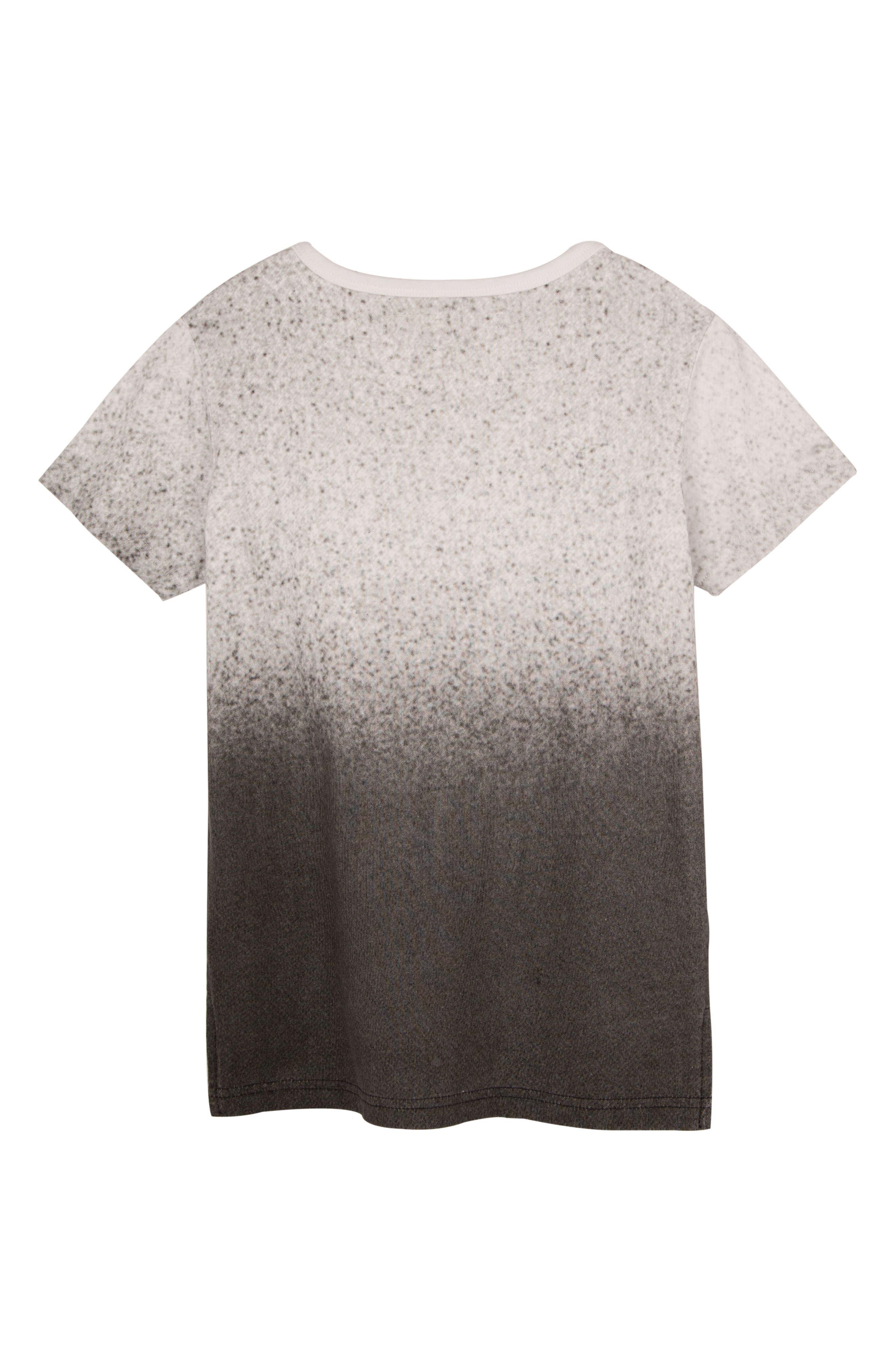 Speckle Gradient T-Shirt,                             Alternate thumbnail 2, color,                             WHITE