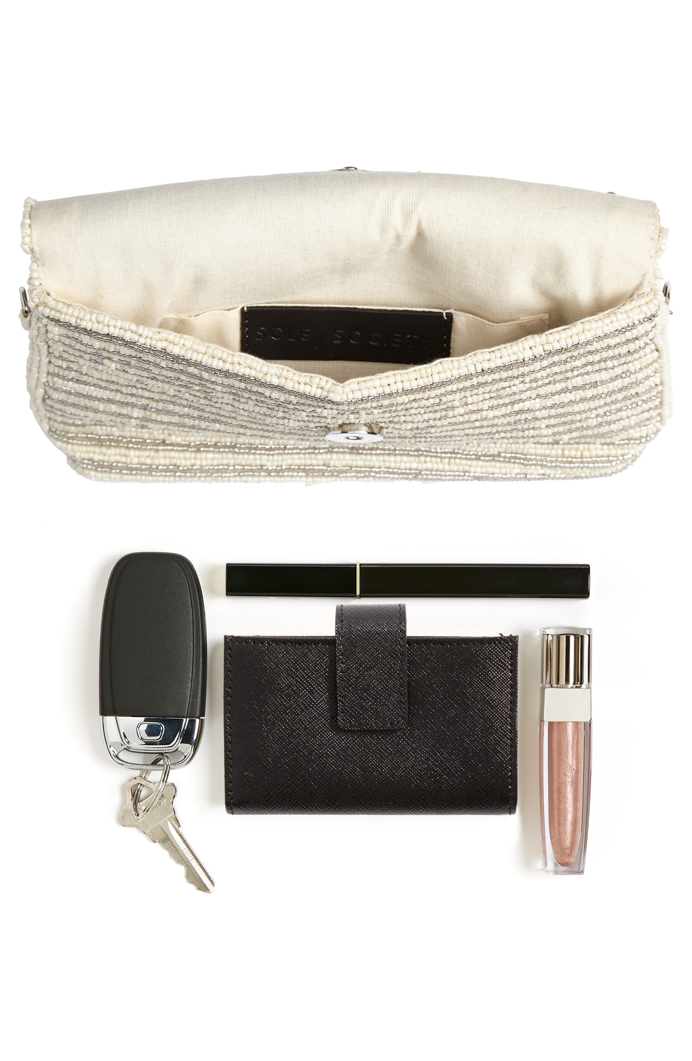 Beaded Clutch,                             Alternate thumbnail 7, color,                             900
