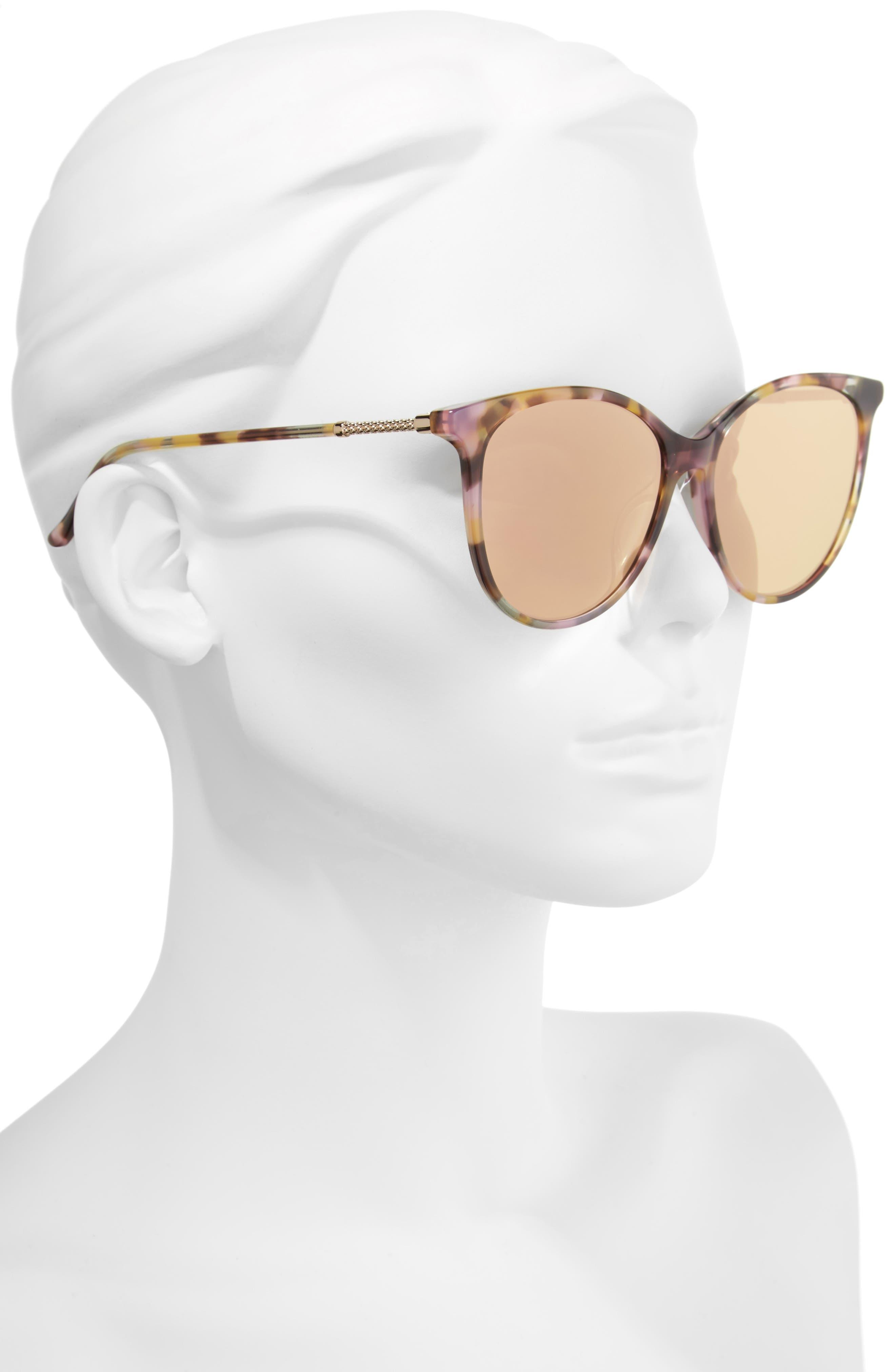 57mm Cat Eye Sunglasses,                             Alternate thumbnail 7, color,