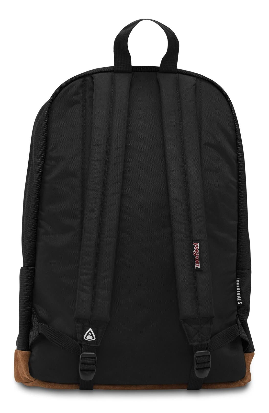 'Right Pack' Backpack,                             Alternate thumbnail 8, color,                             BLACK