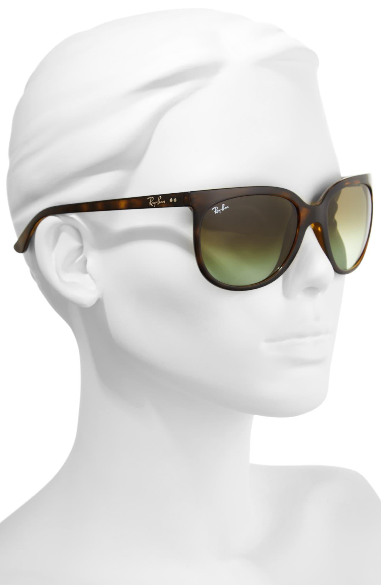 Retro Cat Eye Sunglasses,                             Alternate thumbnail 17, color,