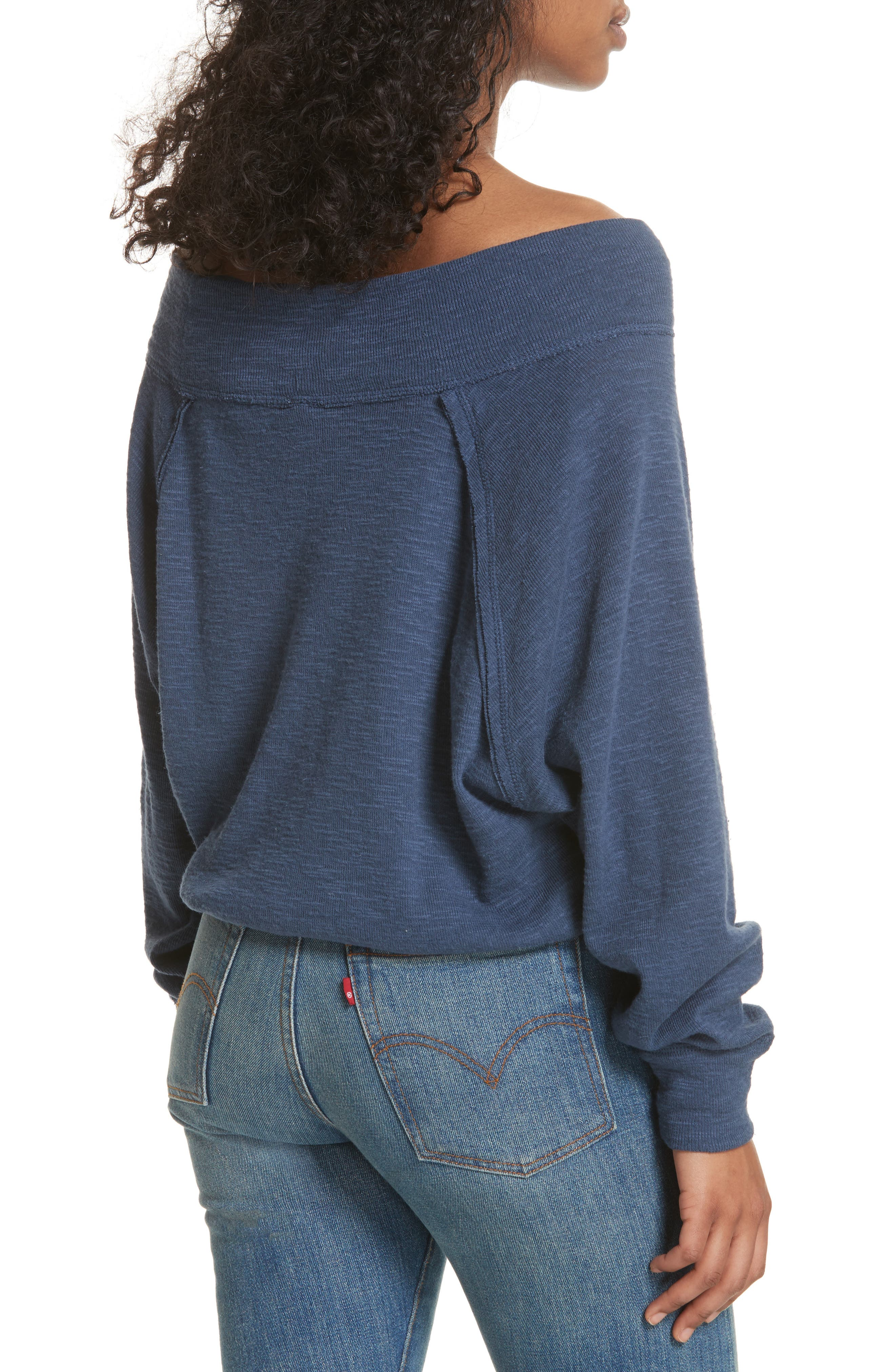 Palisades Off the Shoulder Top,                             Alternate thumbnail 12, color,