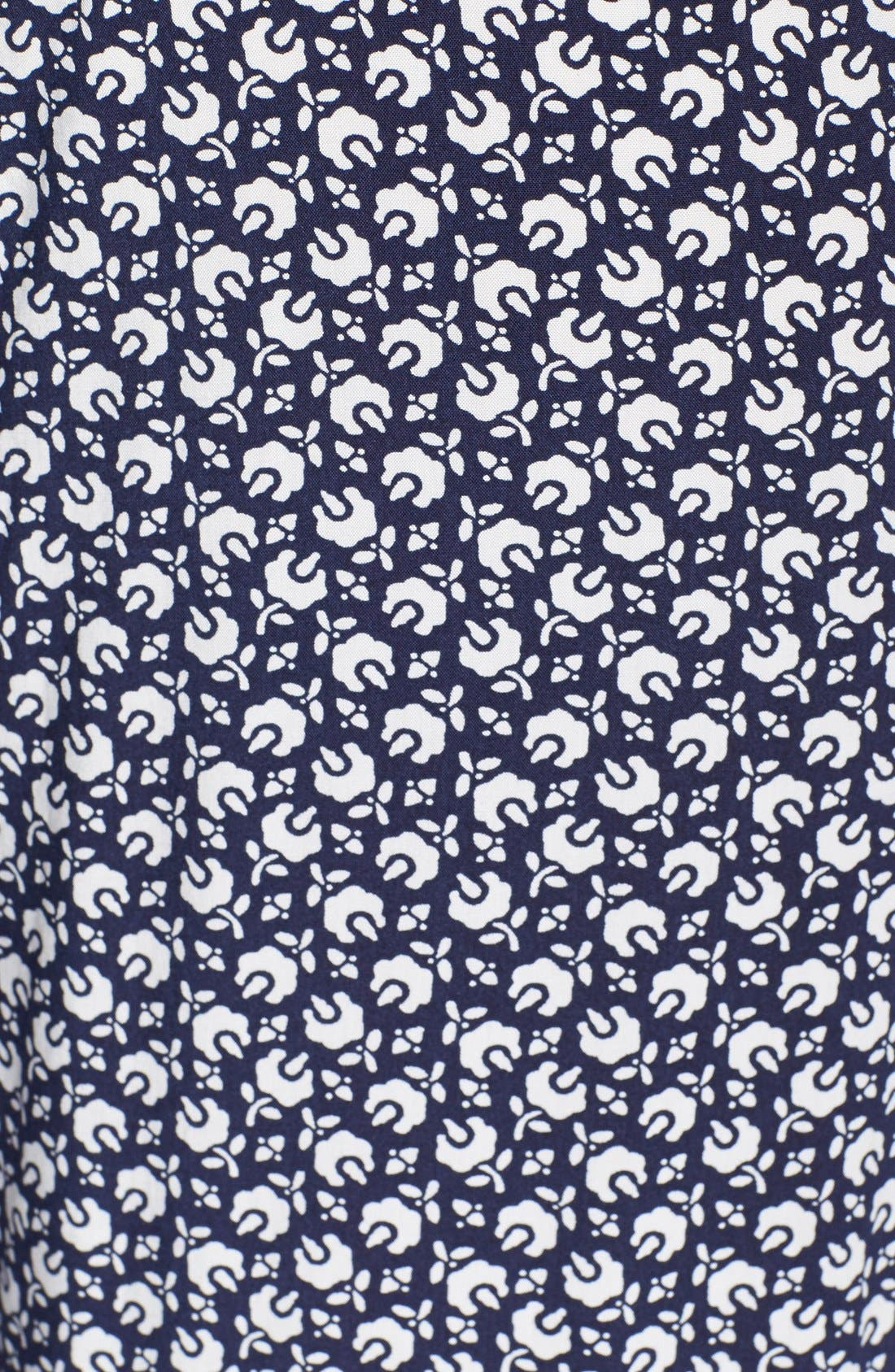 'Rabat Flower' Wide Leg Pants,                             Alternate thumbnail 3, color,                             410